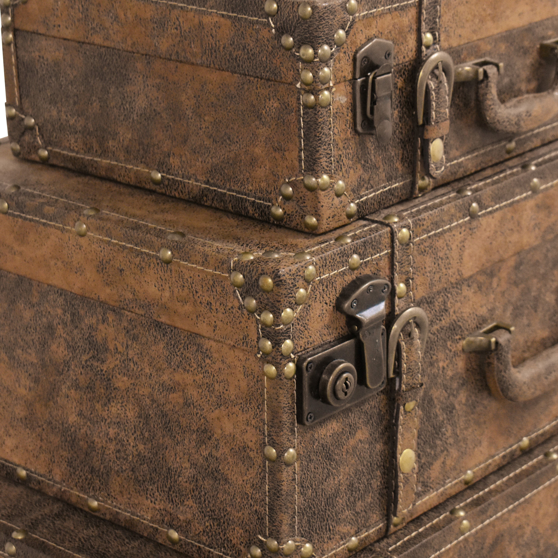 shop Decorative Stacking Storage Trunks