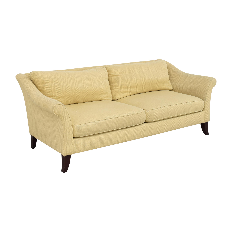Bernhardt Martha Stewart Furniture for Bernhardt Two Cushion Sofa ct