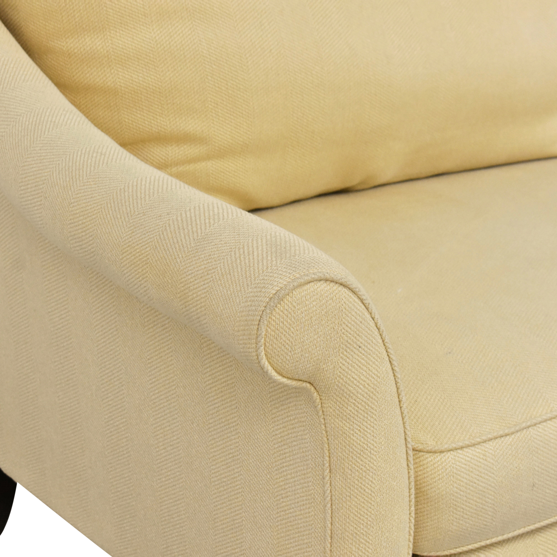 Bernhardt Martha Stewart Furniture for Bernhardt Two Cushion Sofa ma