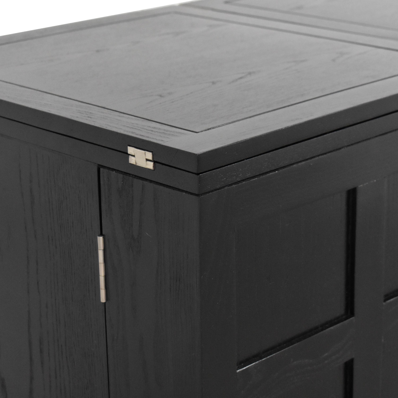 shop Crate & Barrel Crate & Barrel Steamer Bar Cabinet online