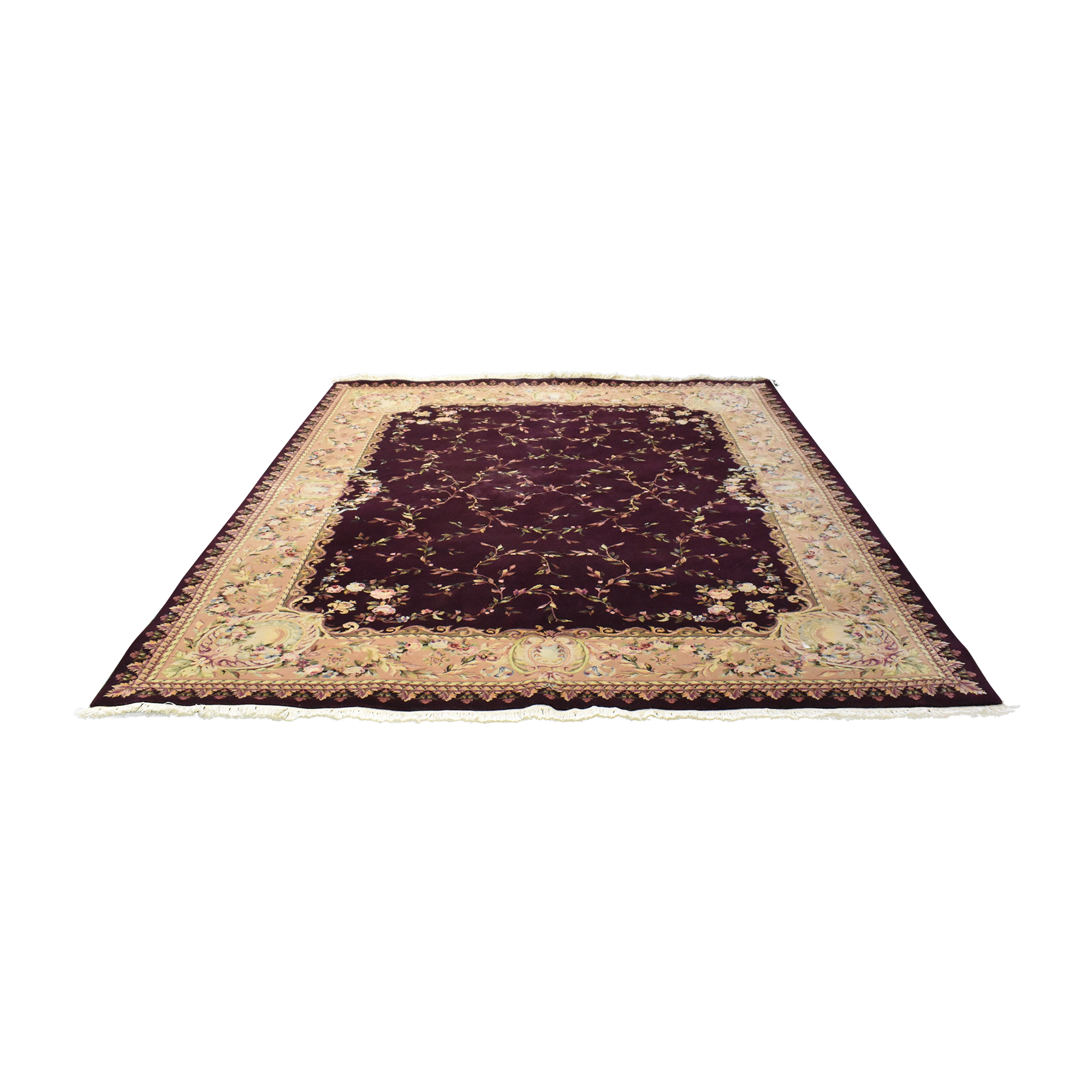Floral Patterned Area Rug
