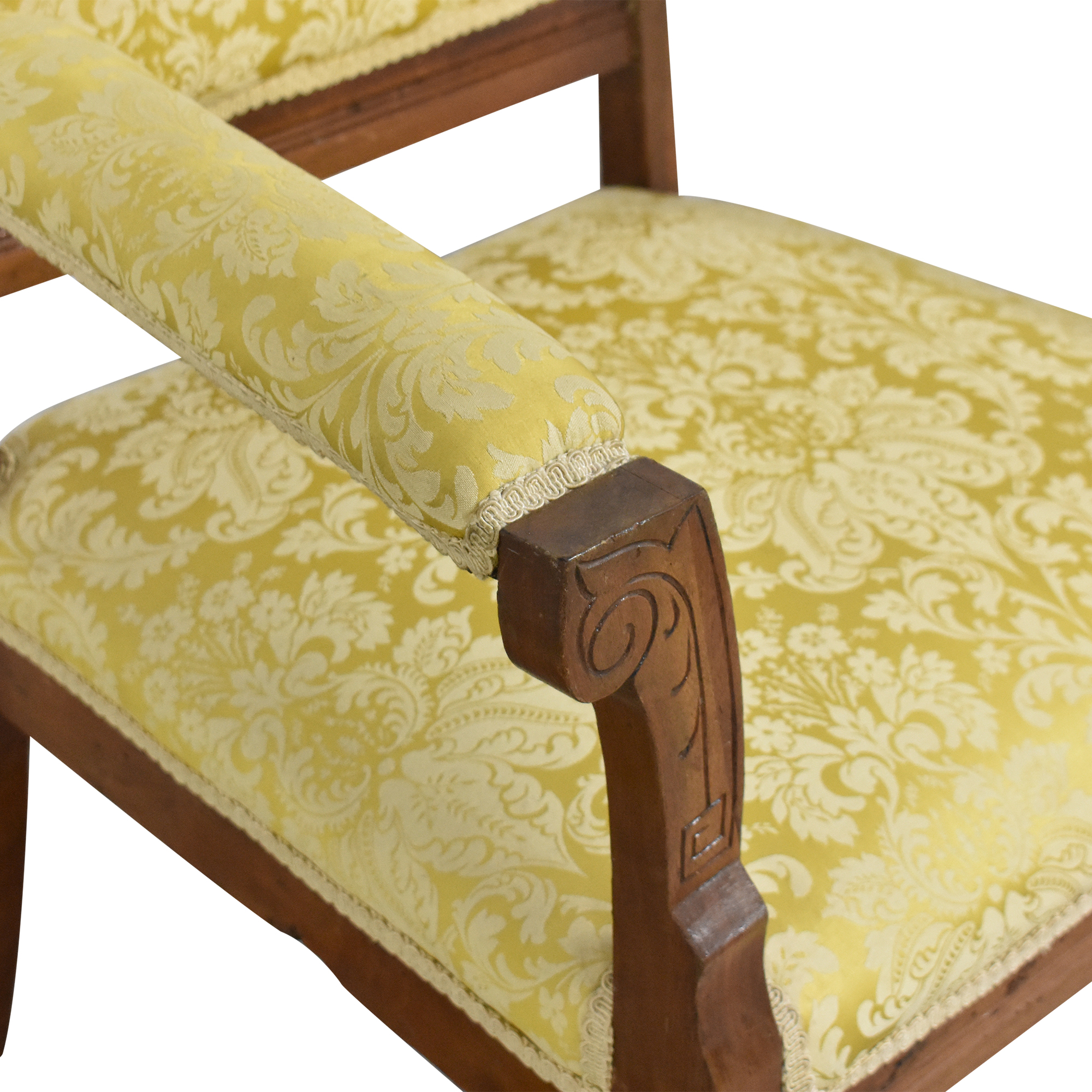 Carved Accent Chair Accent Chairs