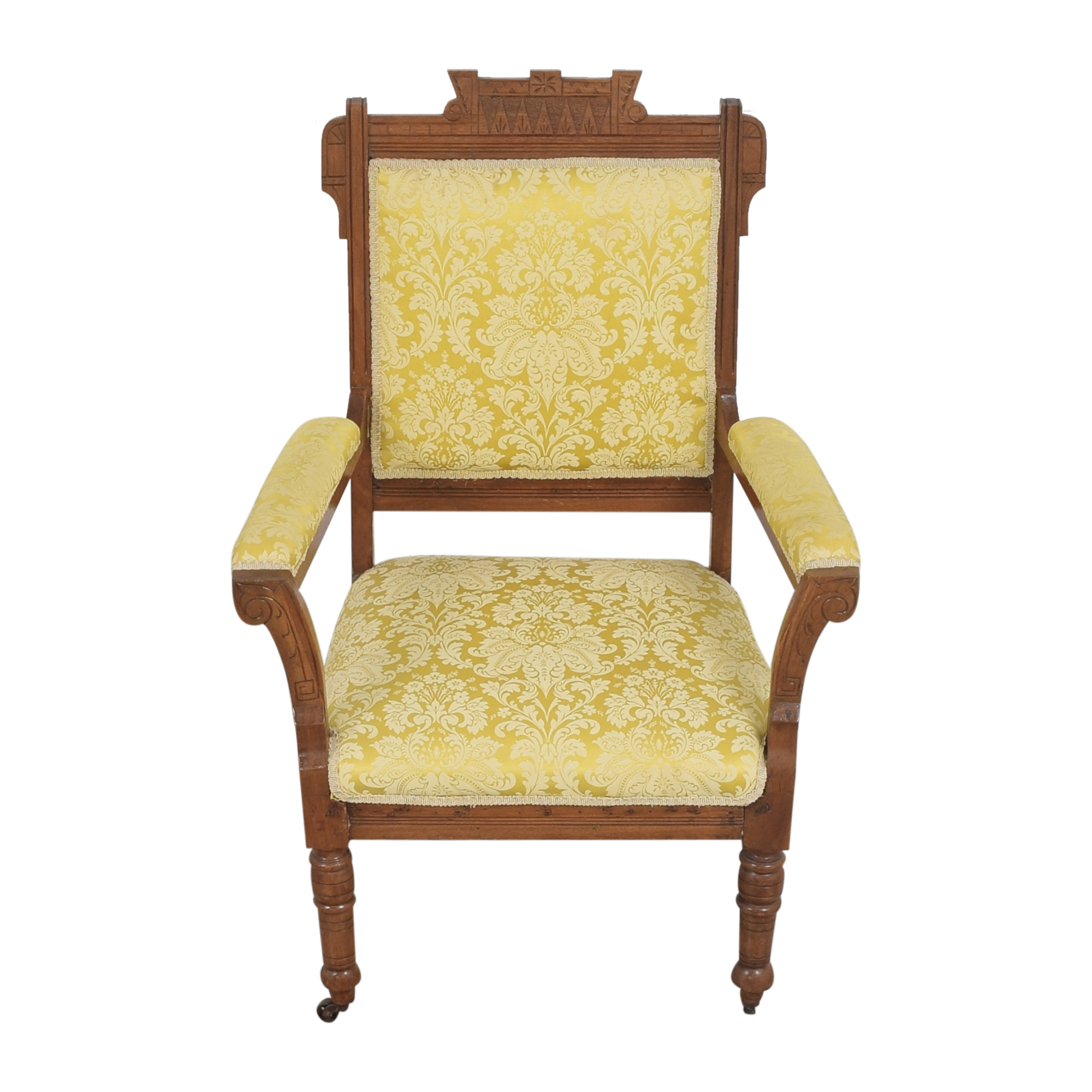 Carved Accent Chair for sale
