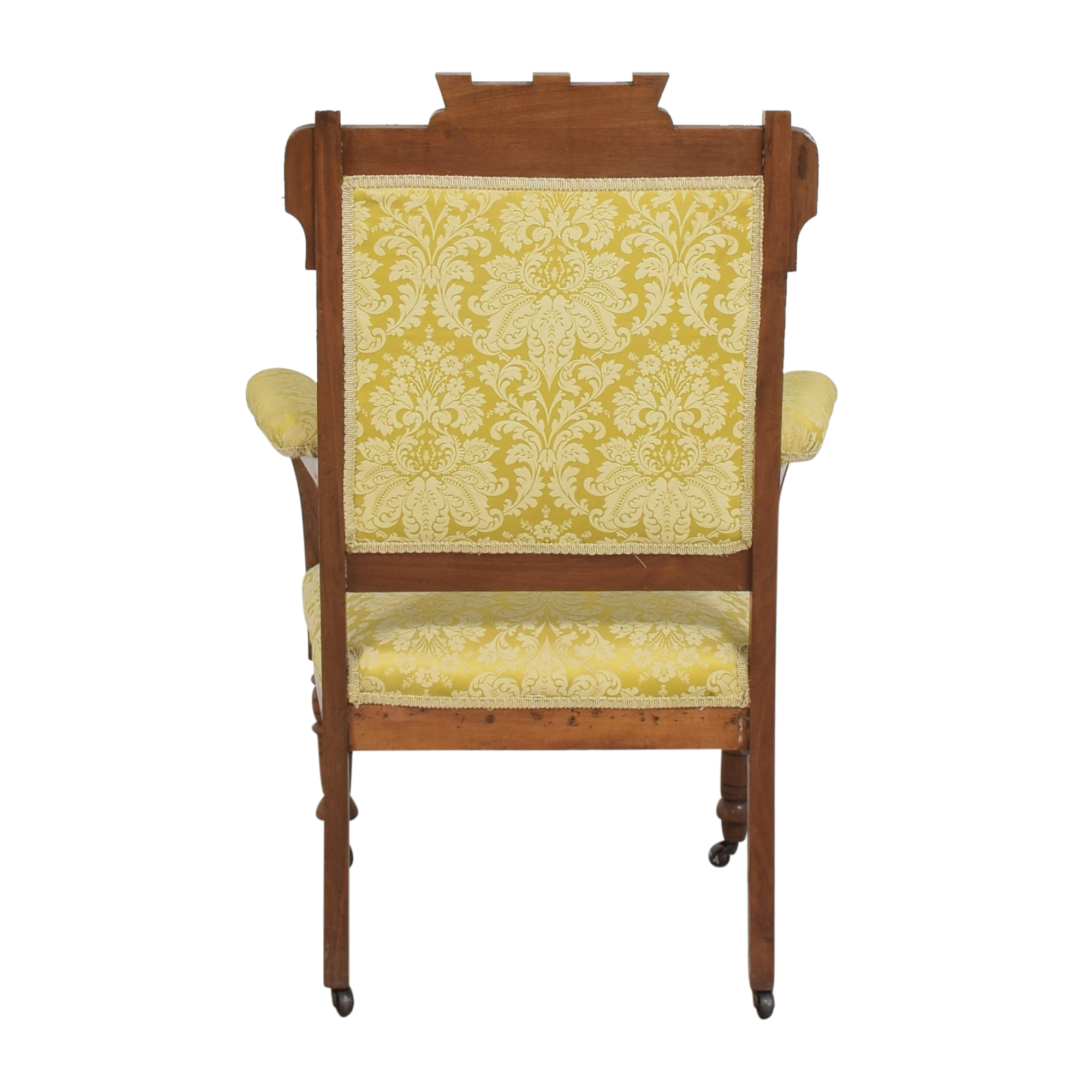 Carved Accent Chair used