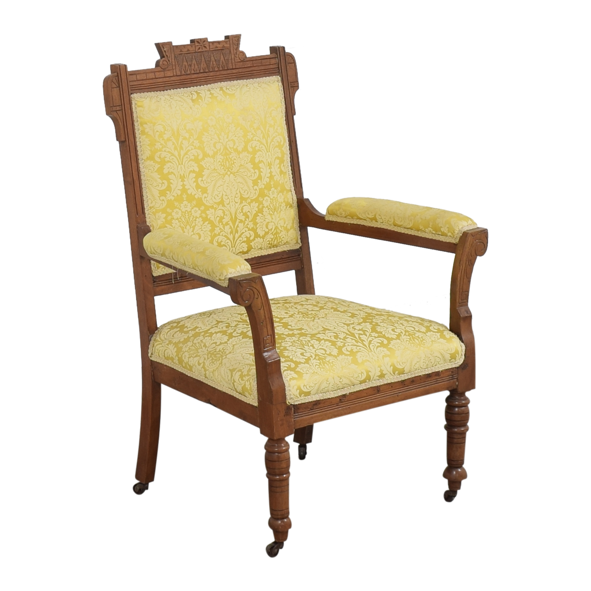 Carved Accent Chair dimensions