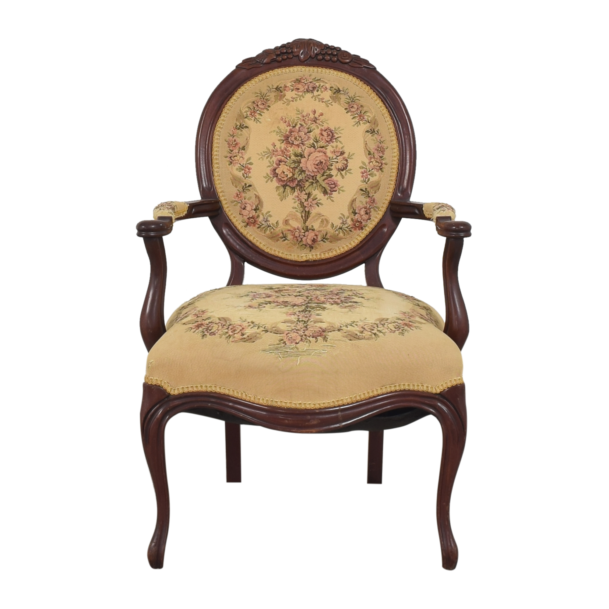 Floral Accent Chair for sale