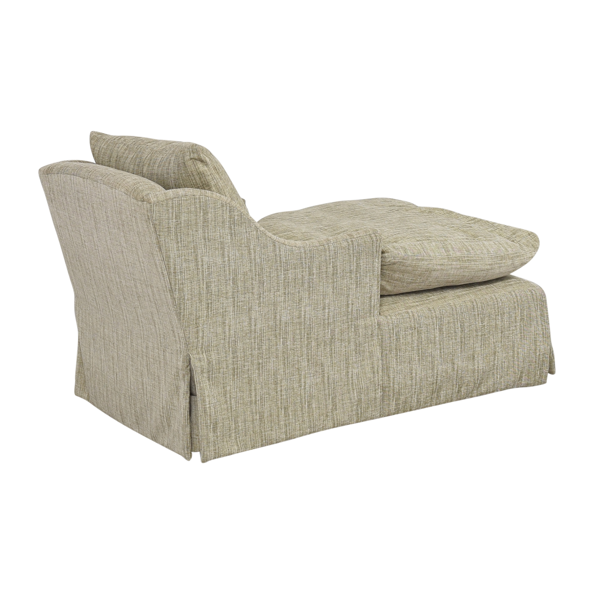Country Willow Country Willow Evalani Slipcovered Chaise beige