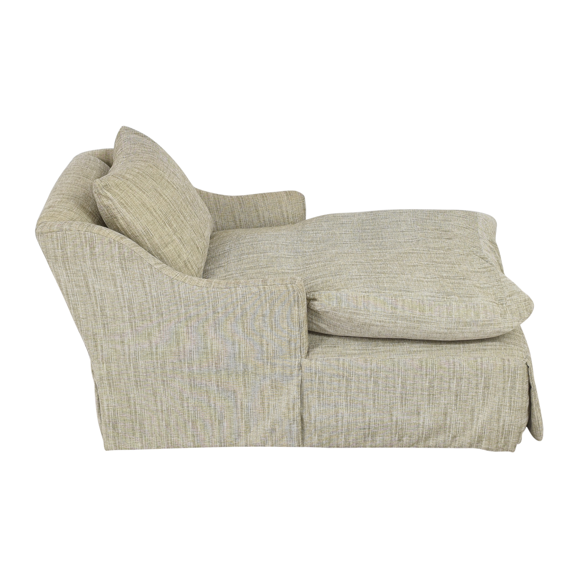 Country Willow Country Willow Evalani Slipcovered Chaise ma