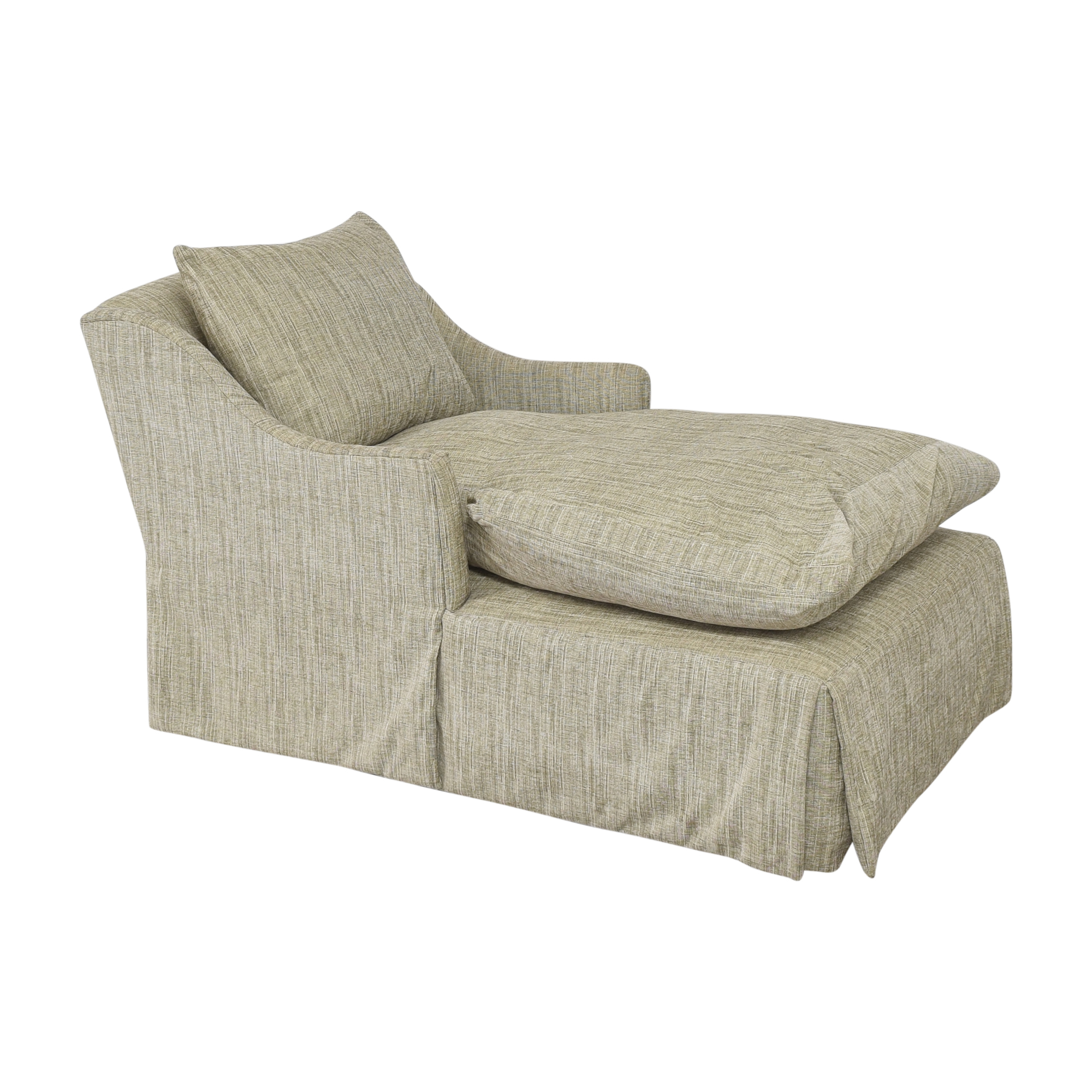 Country Willow Country Willow Evalani Slipcovered Chaise nyc