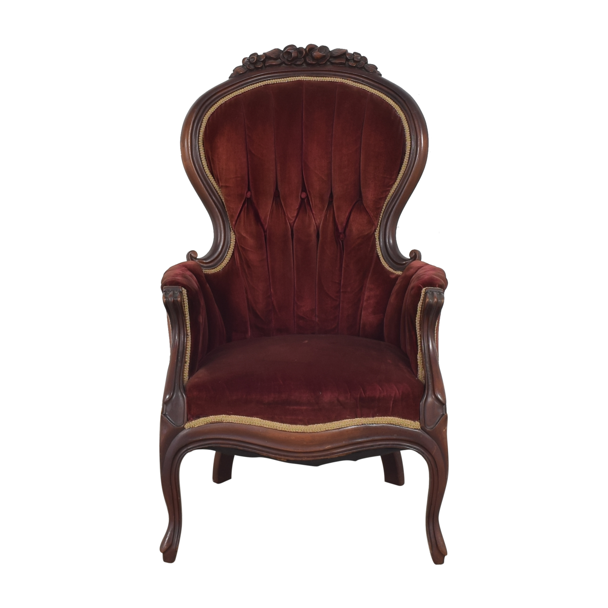 Victorian-Style Accent Chair discount