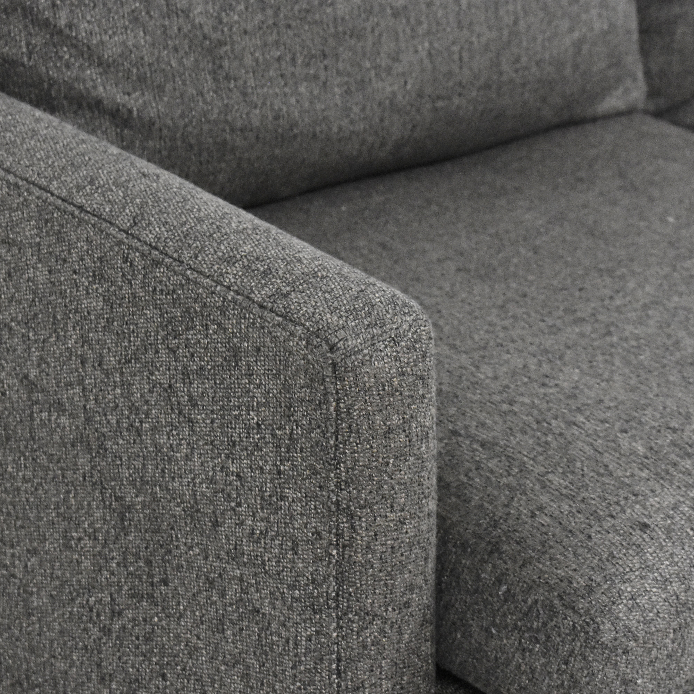buy Crate & Barrel Lounge II Sofa Crate & Barrel