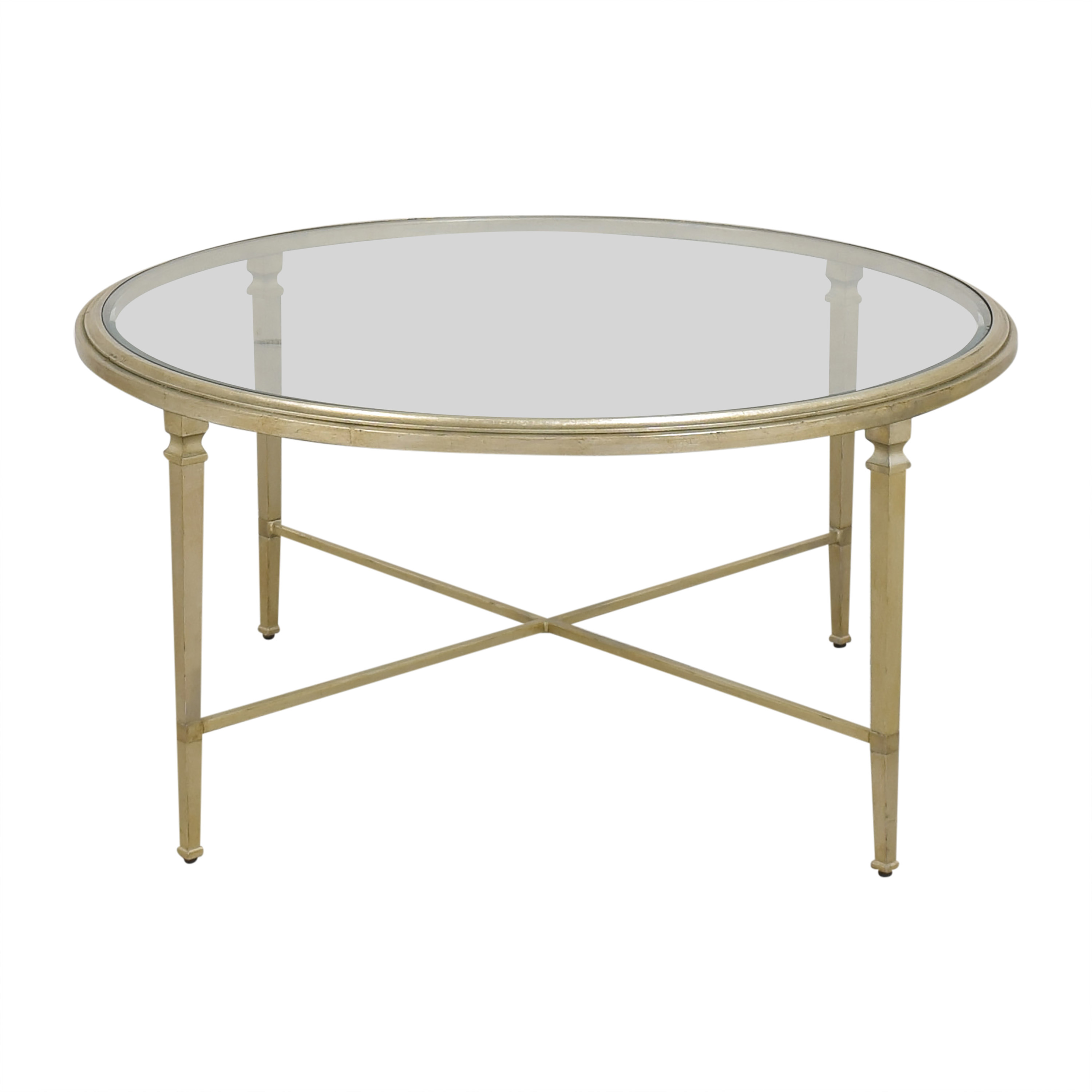 shop Ethan Allen Ethan Allen Heron Round Coffee Table online