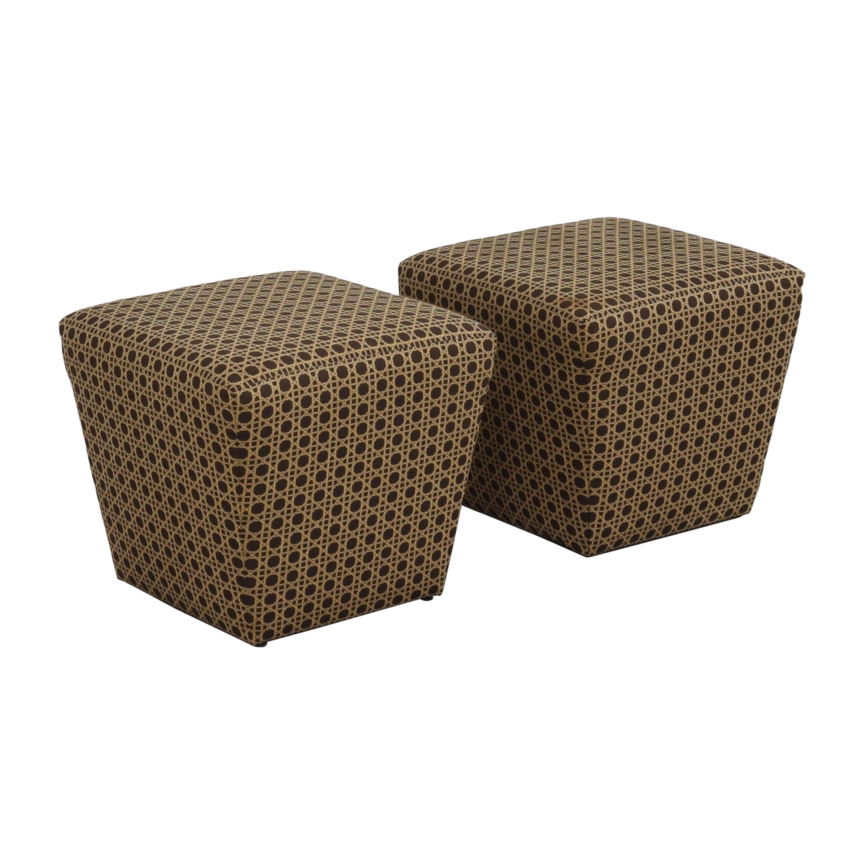 shop Ethan Allen Upholstered Ottomans Ethan Allen Chairs