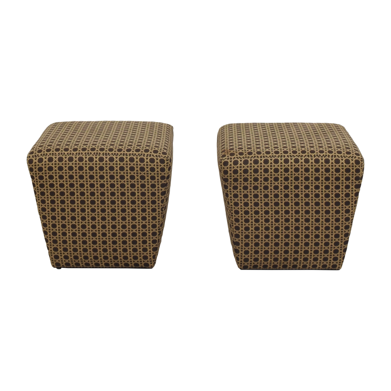 buy Ethan Allen Upholstered Ottomans Ethan Allen Chairs