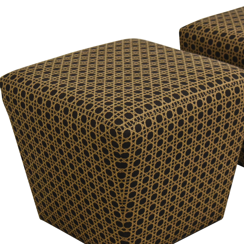 shop Ethan Allen Ethan Allen Upholstered Ottomans online