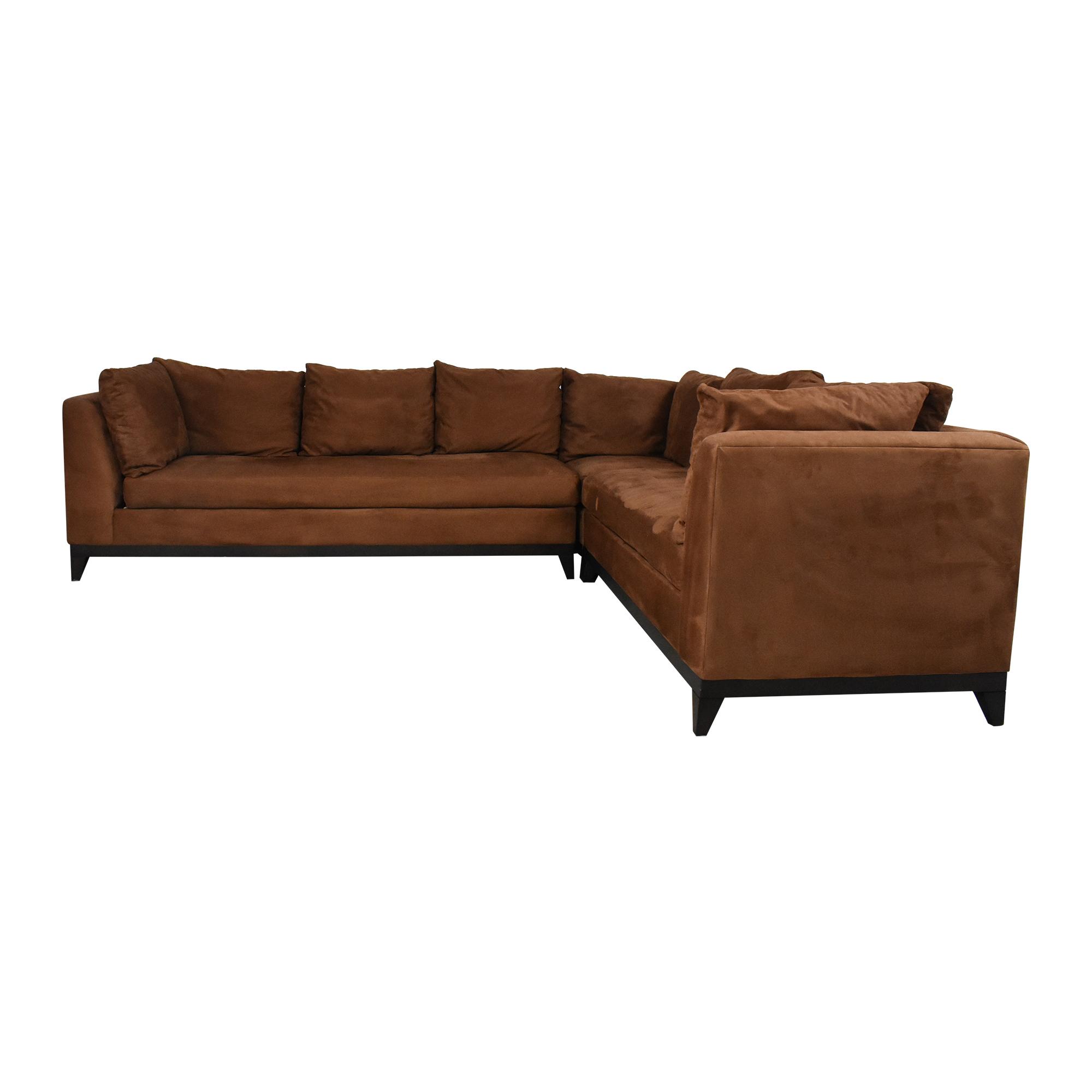 Kravet Kravet Corner Sectional Sofa Sofas