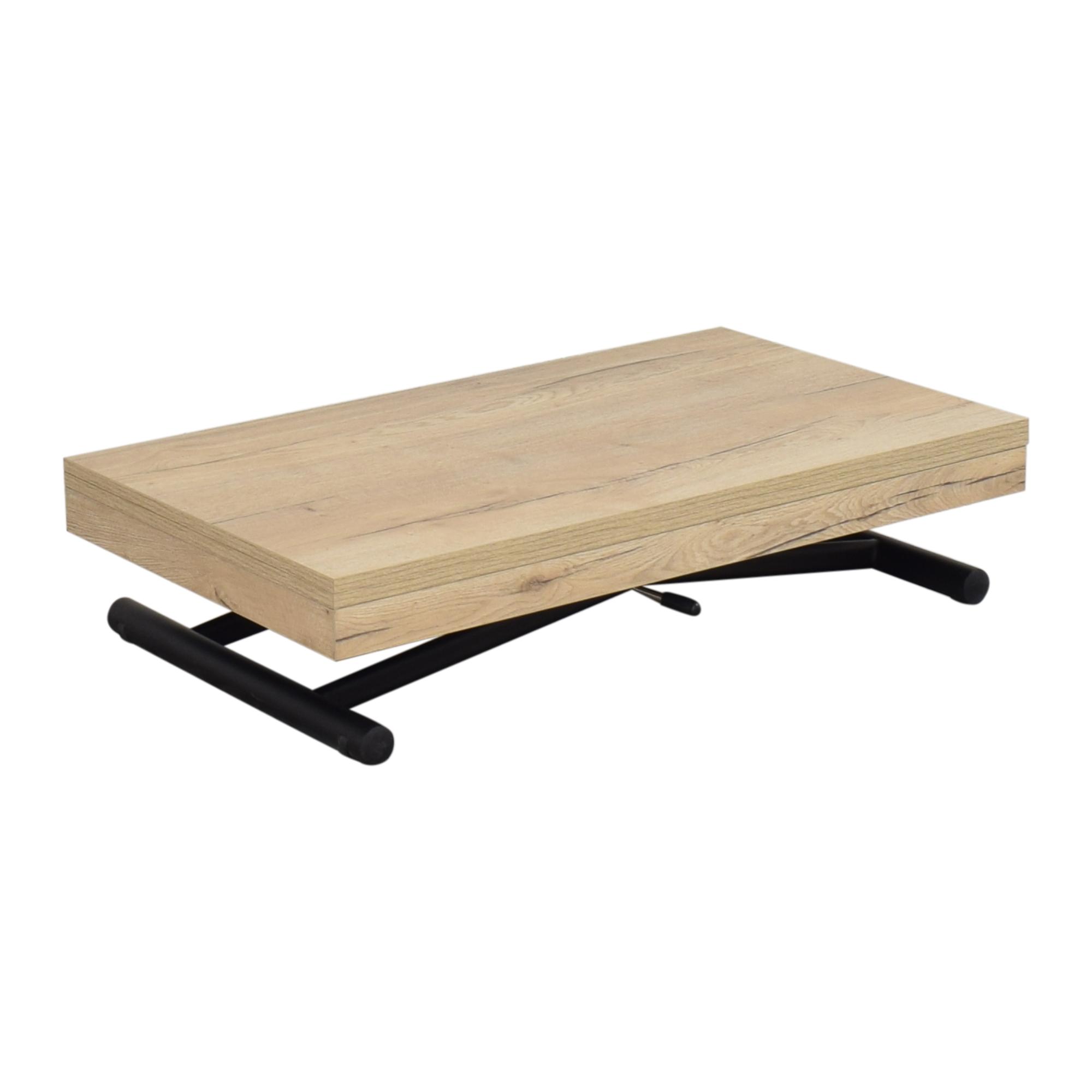 Expand Furniture Expand Furniture Alzare Square Transforming Table pa