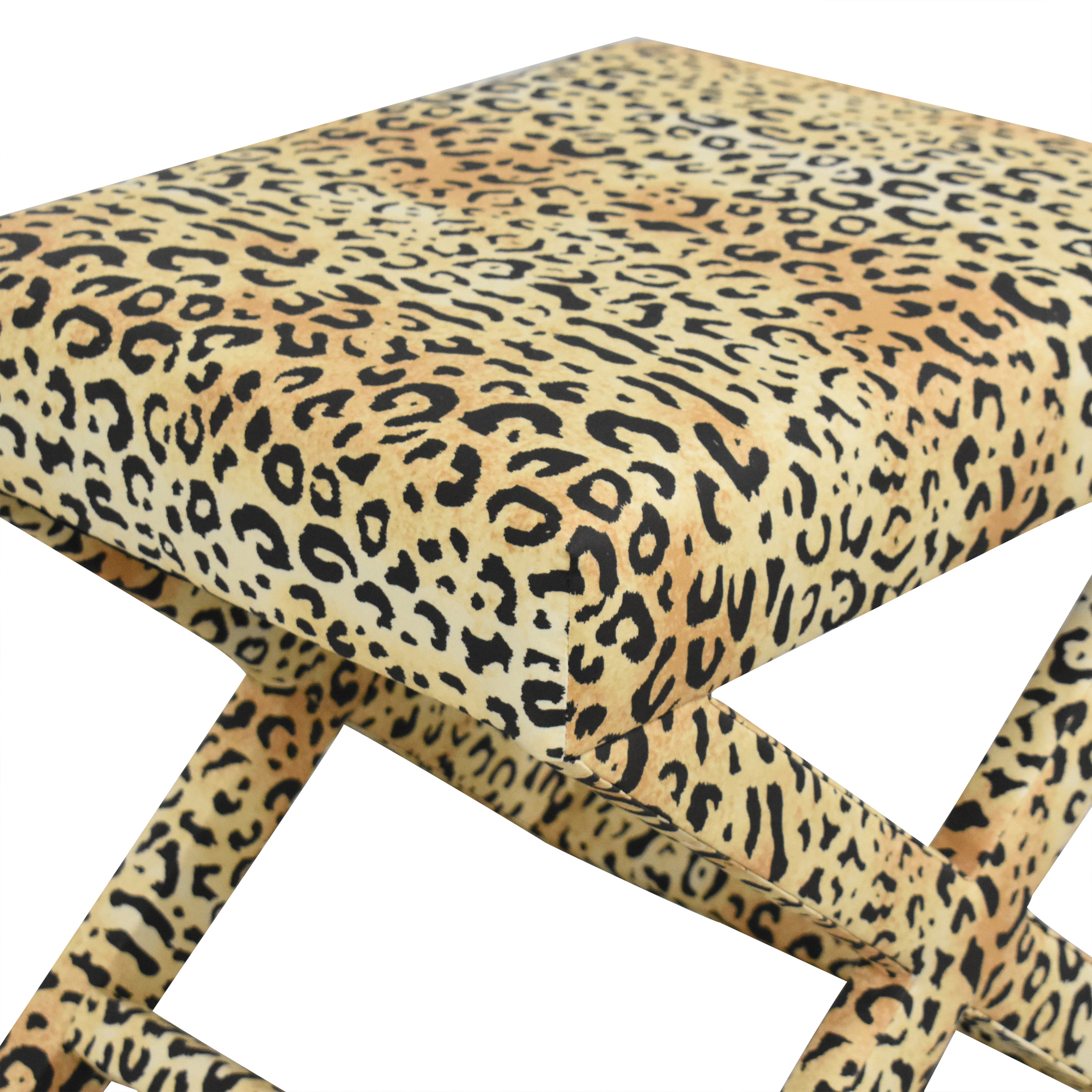 shop The Inside Leopard X Bench The Inside