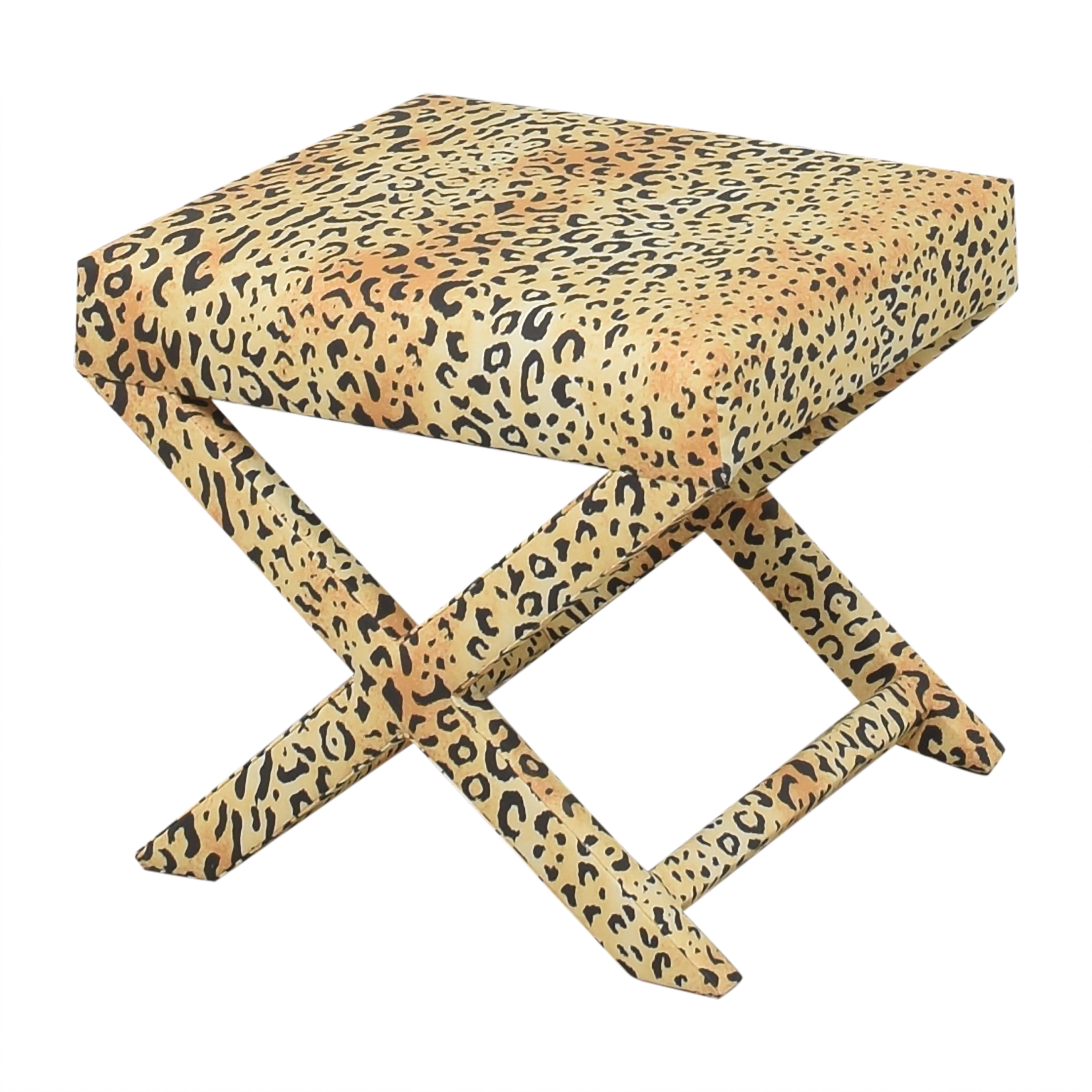 The Inside The Inside Leopard X Bench Chairs