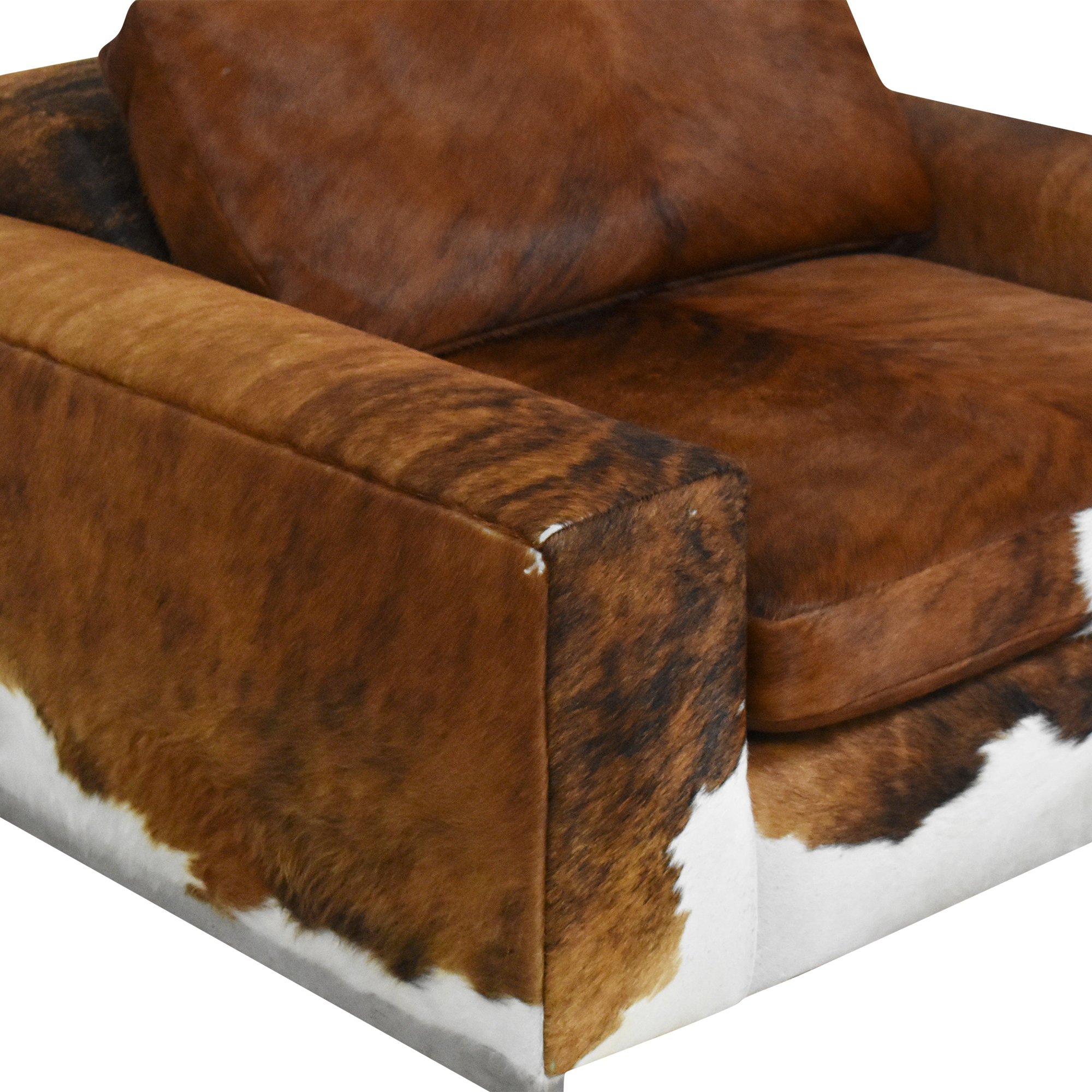 Custom Room & Board Hide Lounge Chair / Accent Chairs