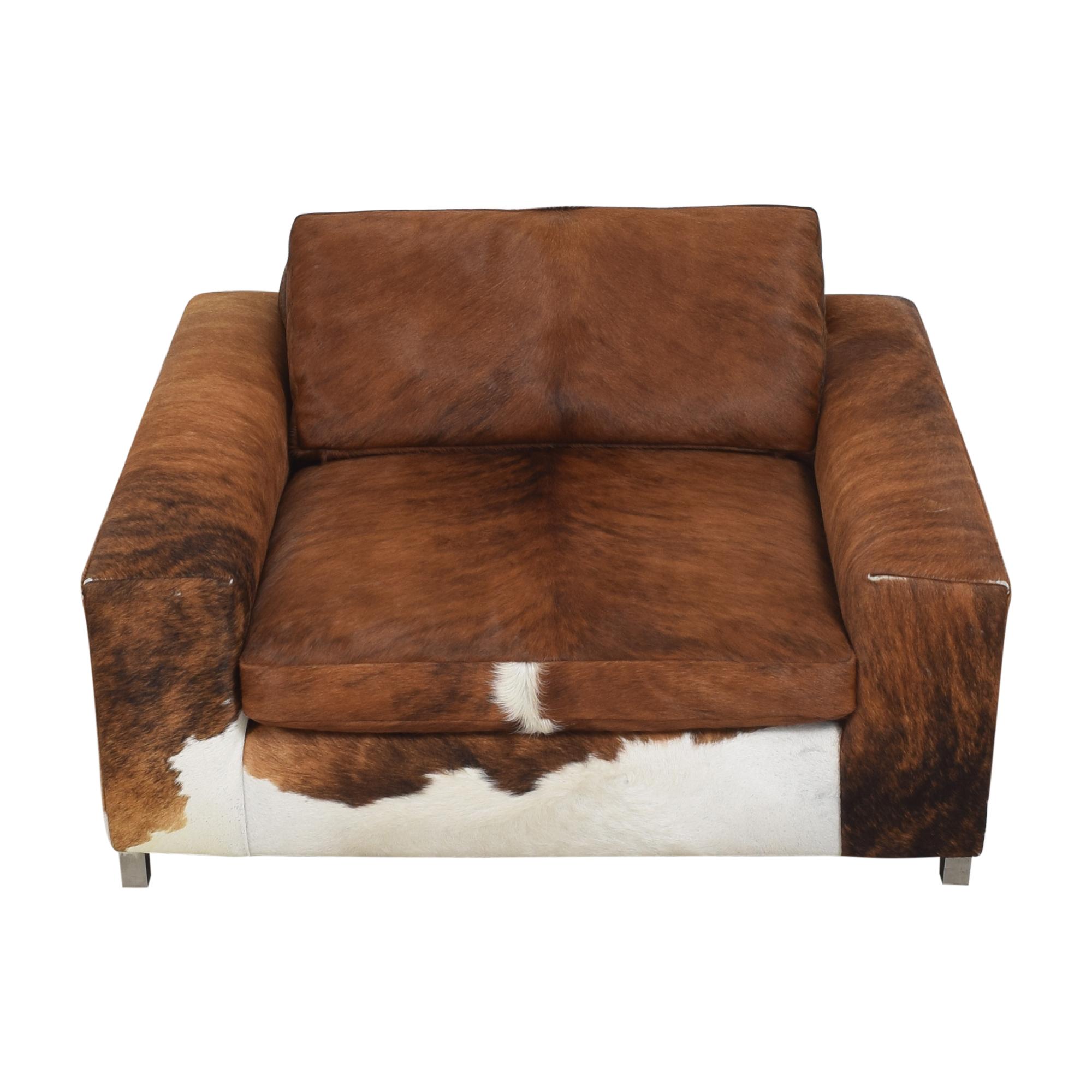 Room & Board Custom Room & Board Hide Lounge Chair ma