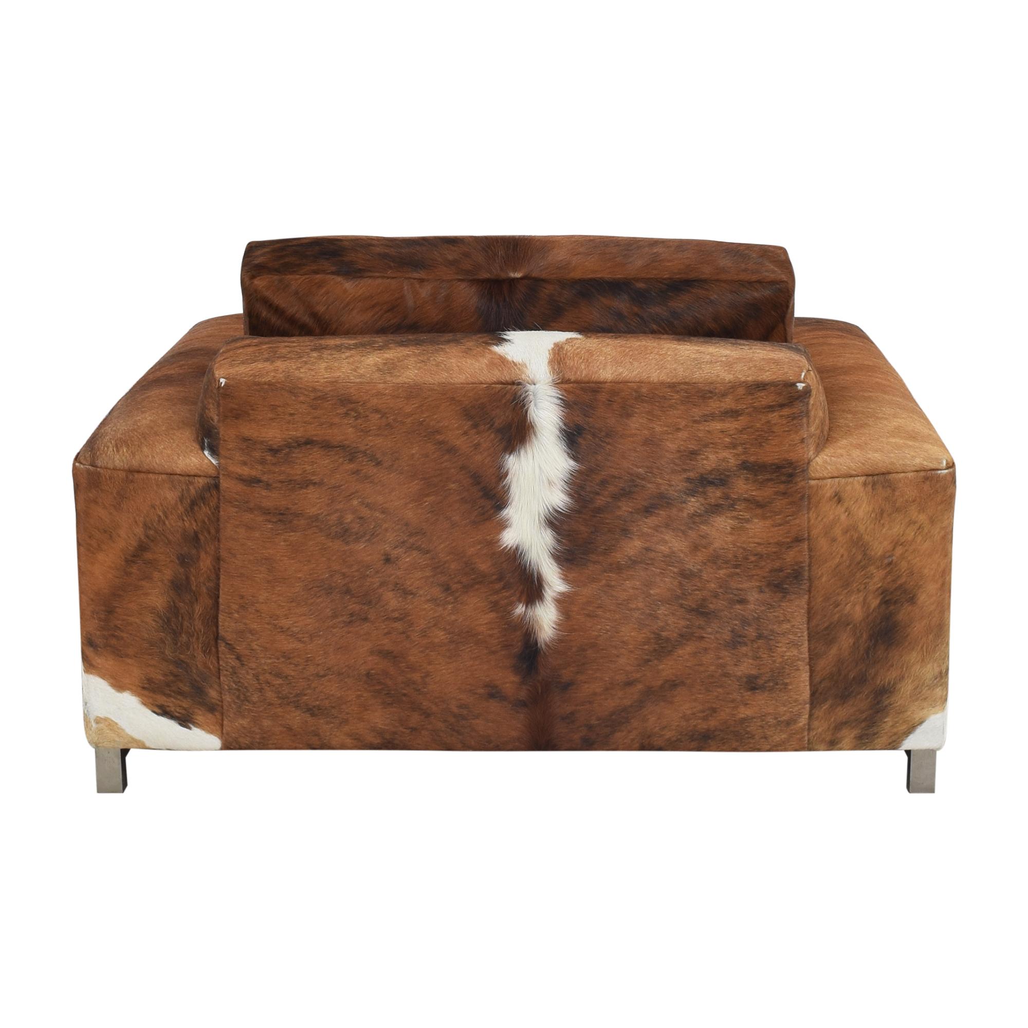 Room & Board Custom Room & Board Hide Lounge Chair nyc