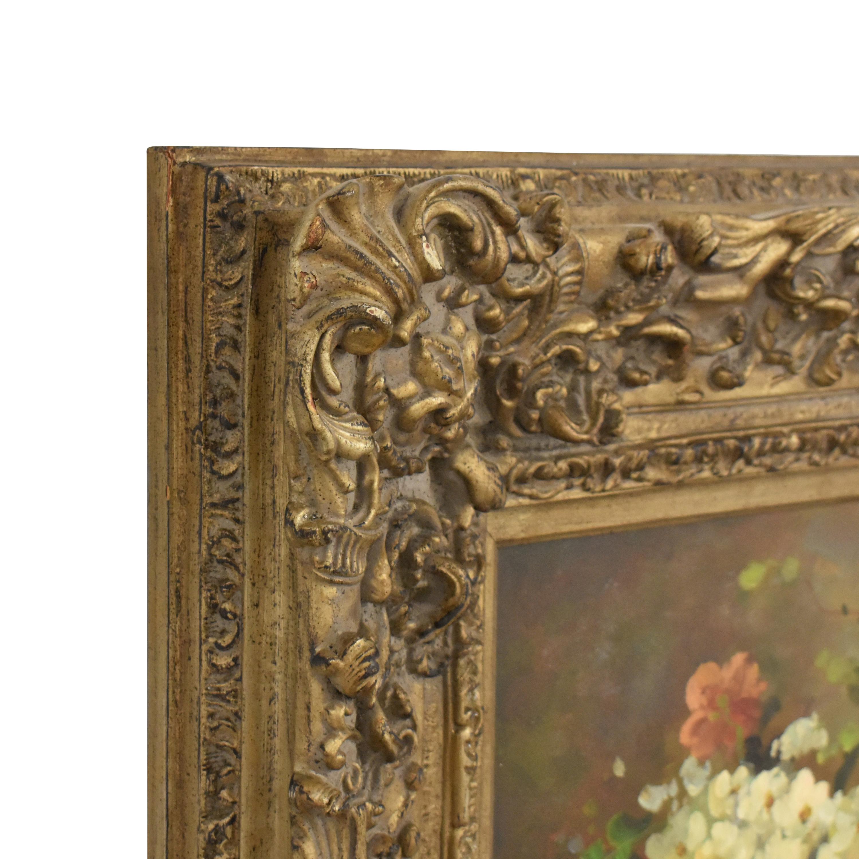 Framed Floral Wall Art Wall Art