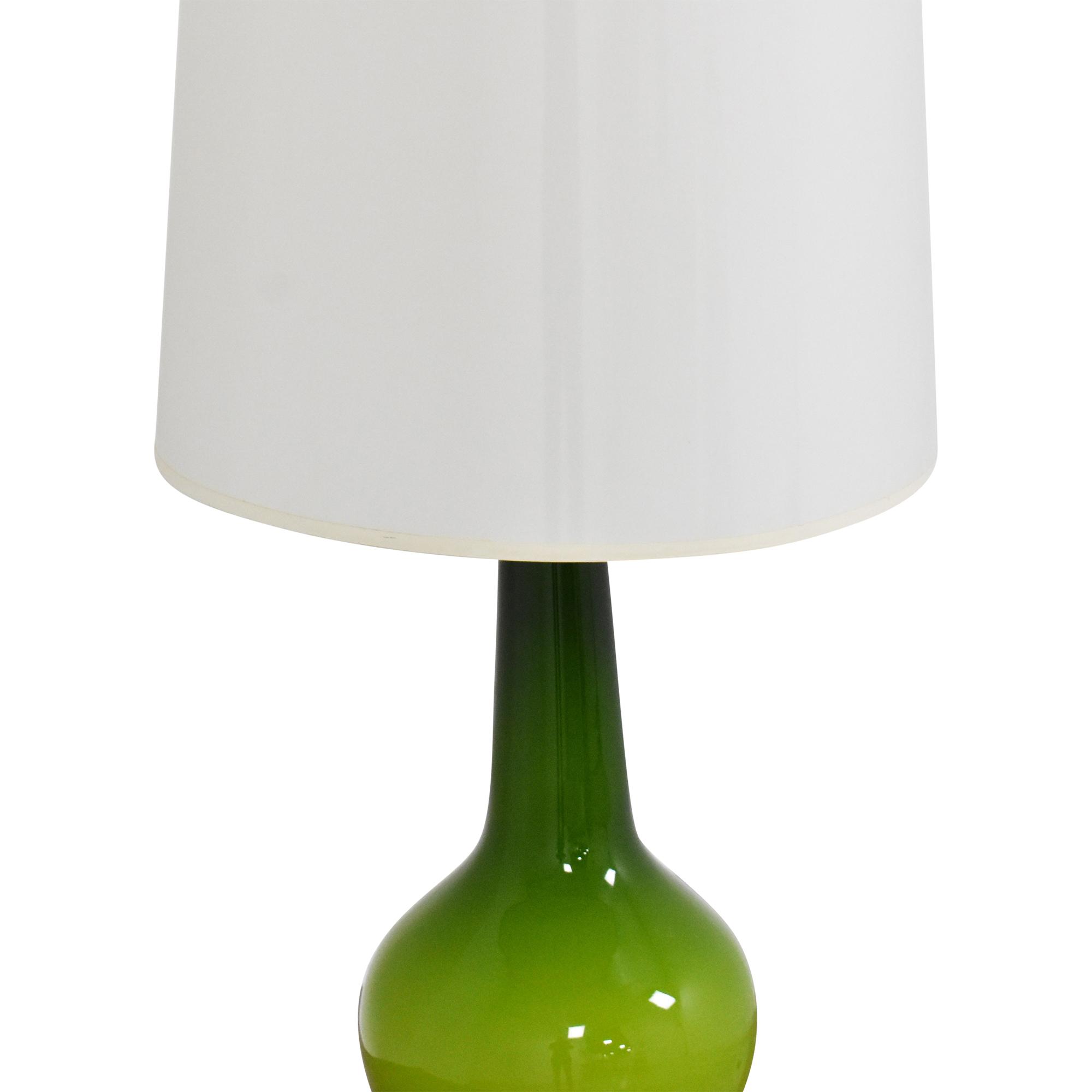 Jonathan Adler Jonathan Adler Capri Bottle Table Lamp green and off white