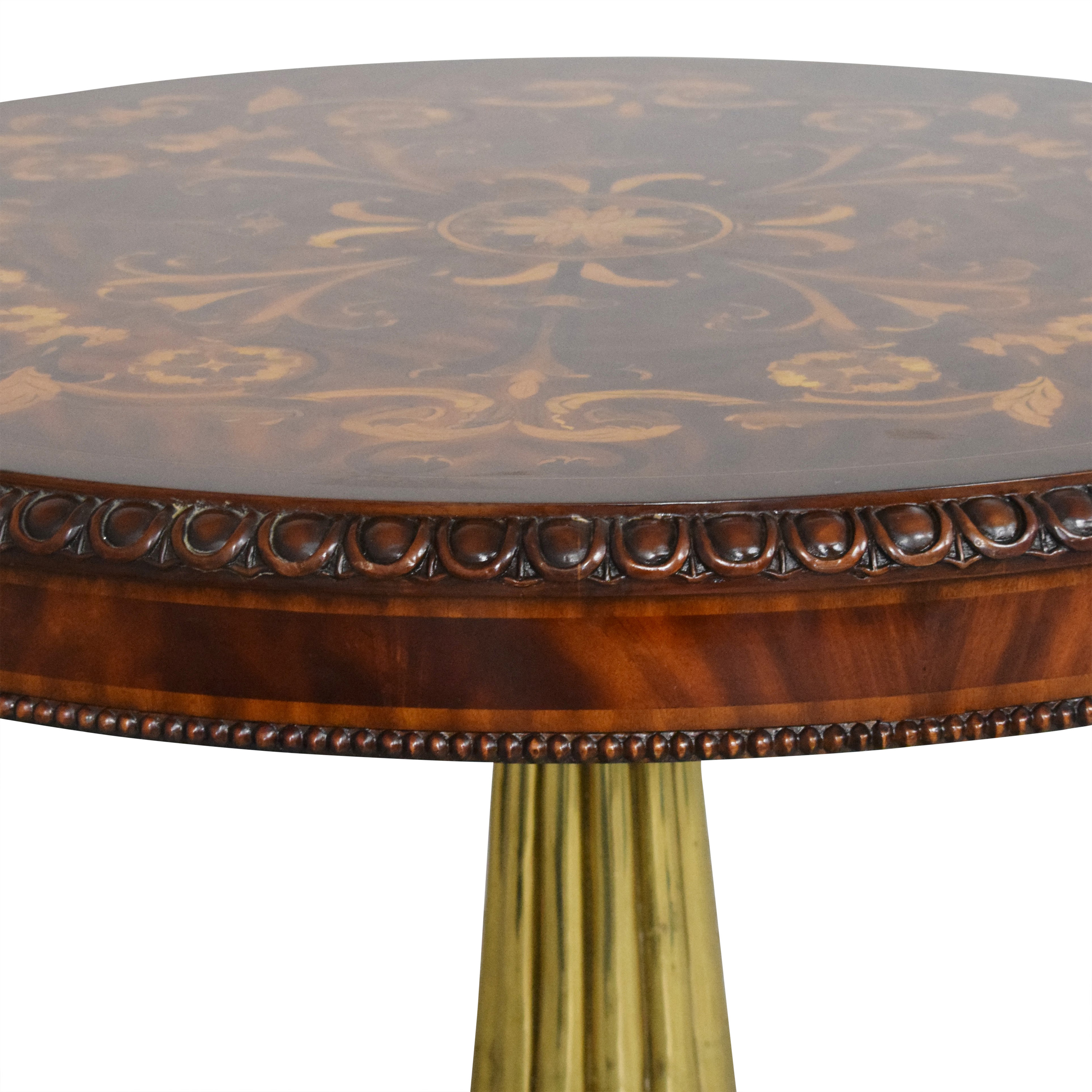 Empire Style Round Accent Table Tables