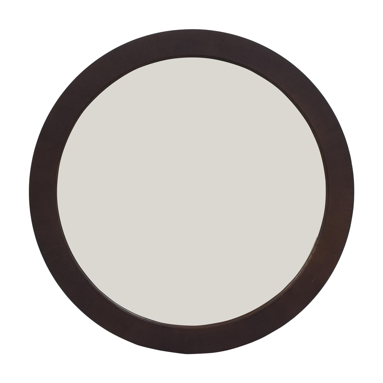 Ethan Allen Round Framed Mirror sale