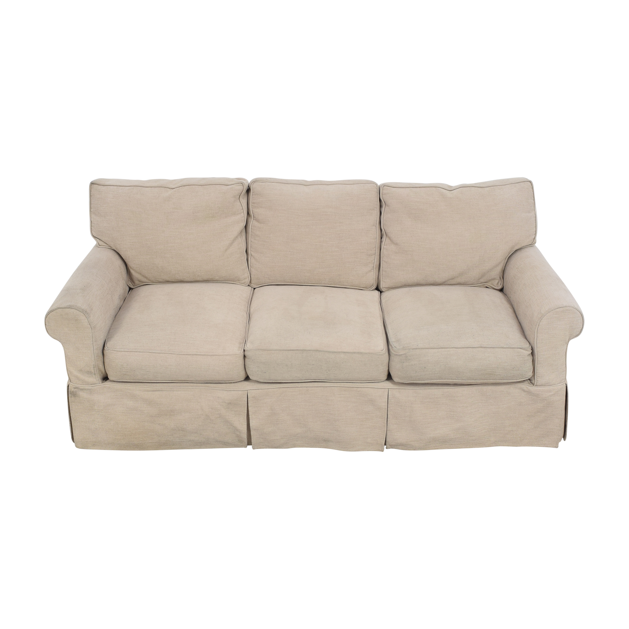 Country Willow Country Willow Roll Arm Slipcovered Sofa coupon