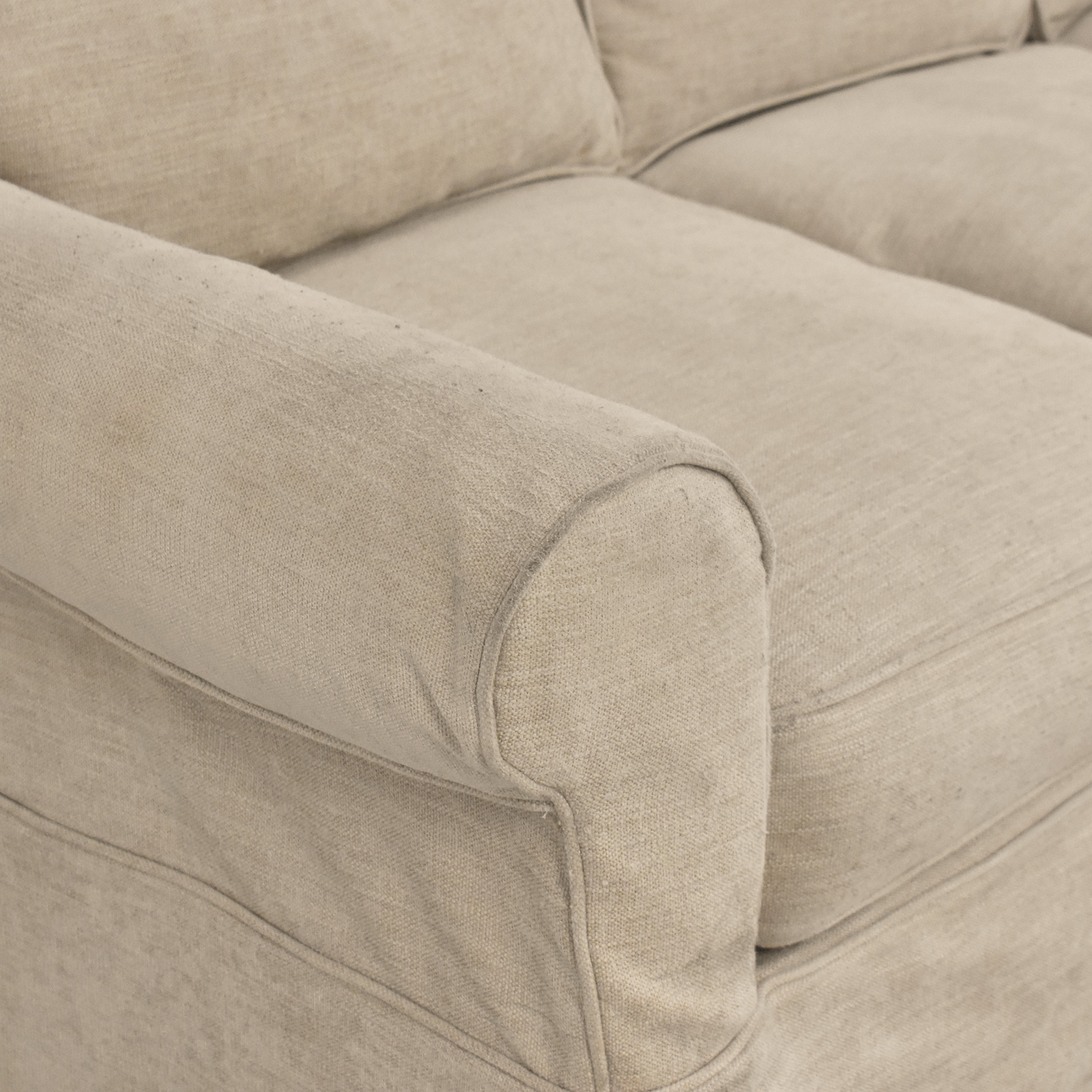 Country Willow Country Willow Roll Arm Slipcovered Sofa nj
