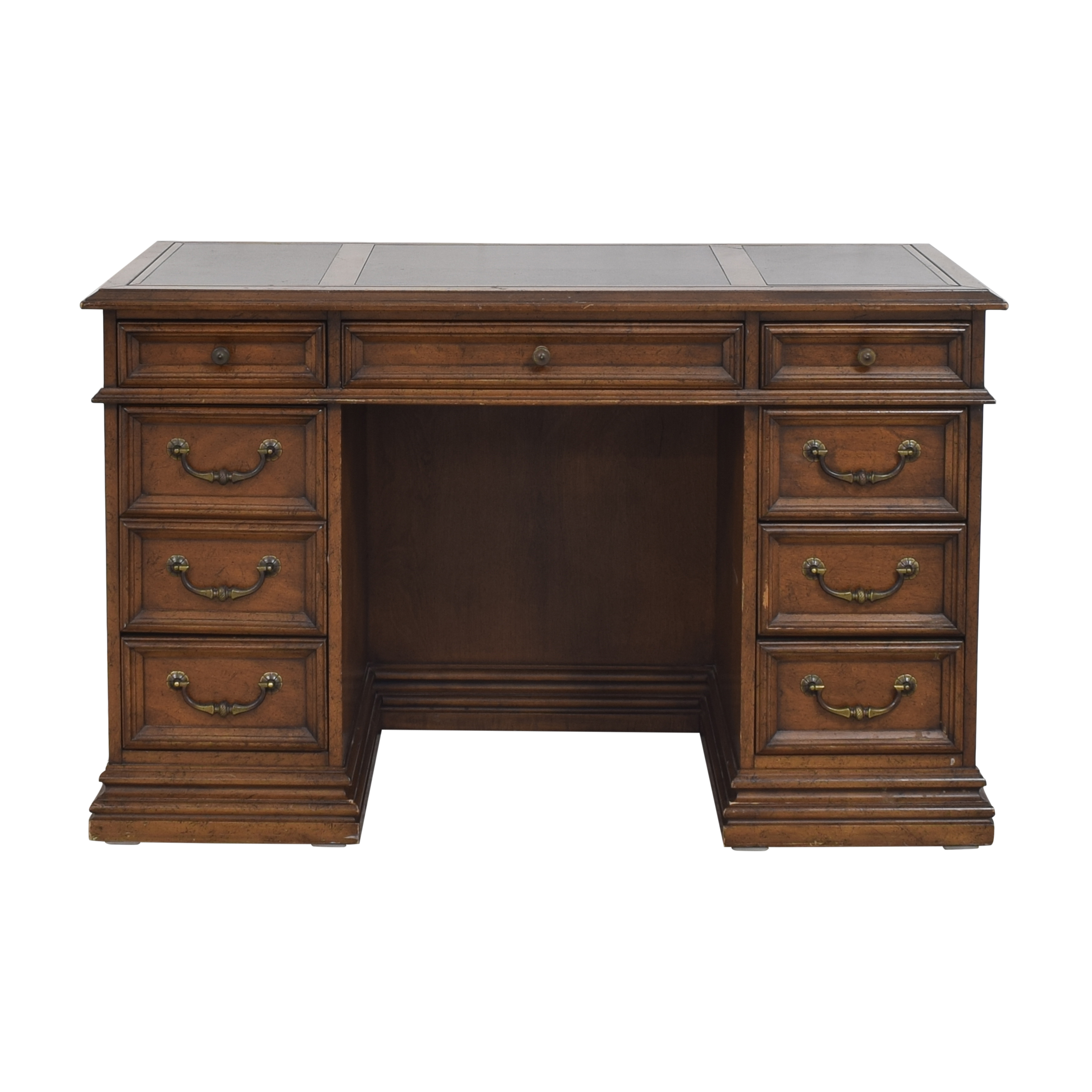 Sligh Furniture Sligh Furniture Executive Desk brown and black