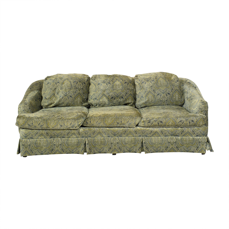 buy Sherrill Furniture Skirted Sofa Sherrill Furniture Classic Sofas