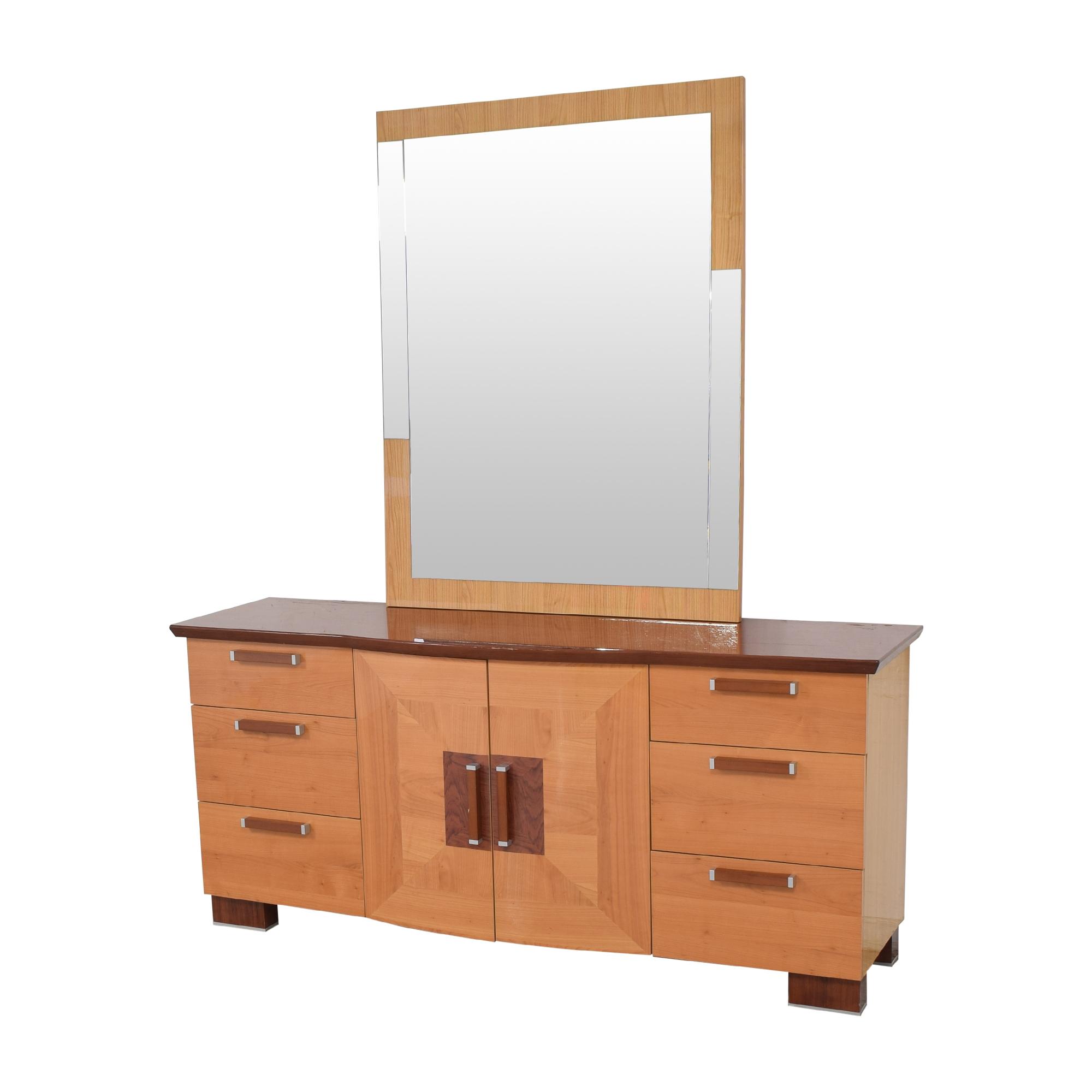 Alf Italia Alf Italia Door Dresser with Mirror on sale
