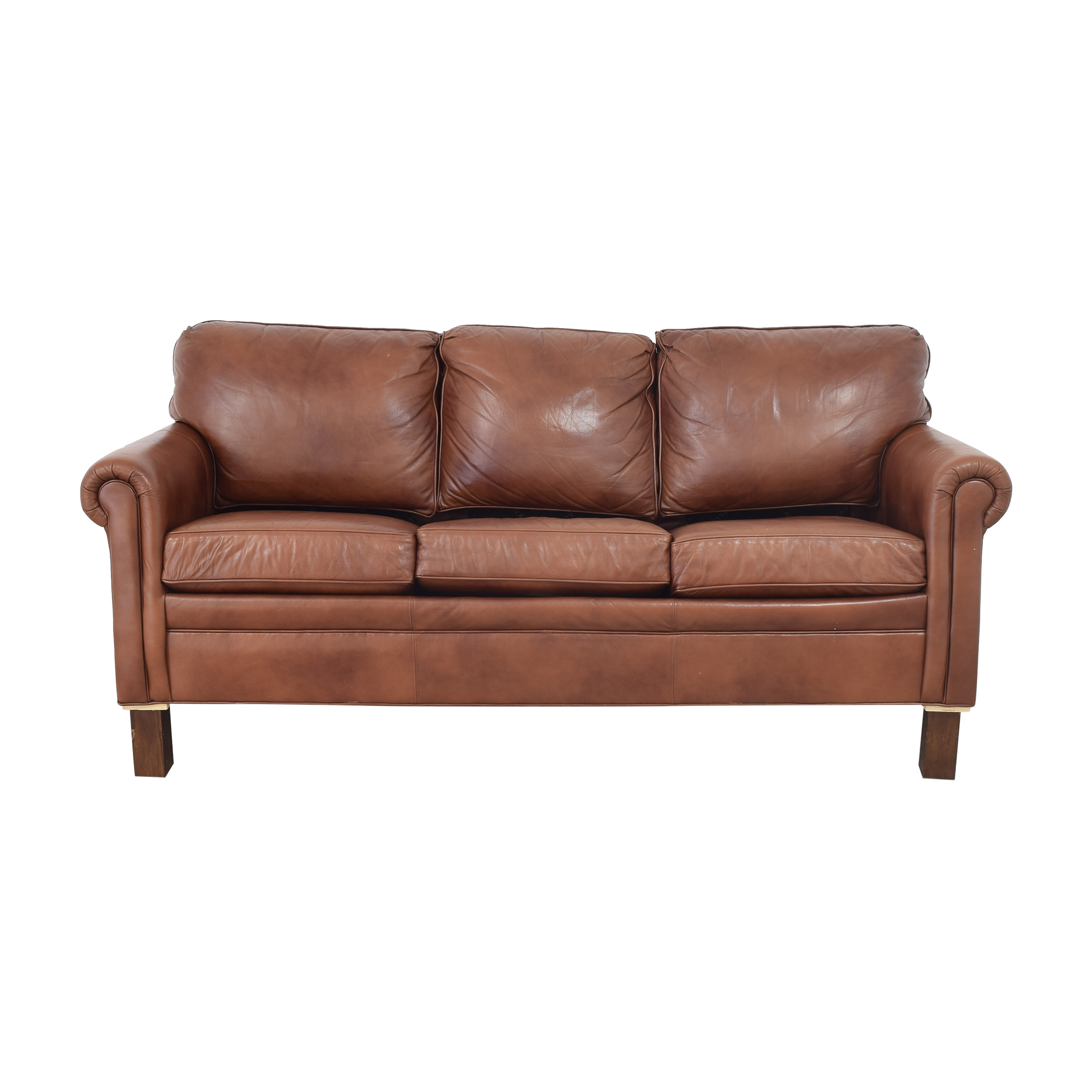 Ethan Ellen Three Cushion Sleeper Sofa / Sofas
