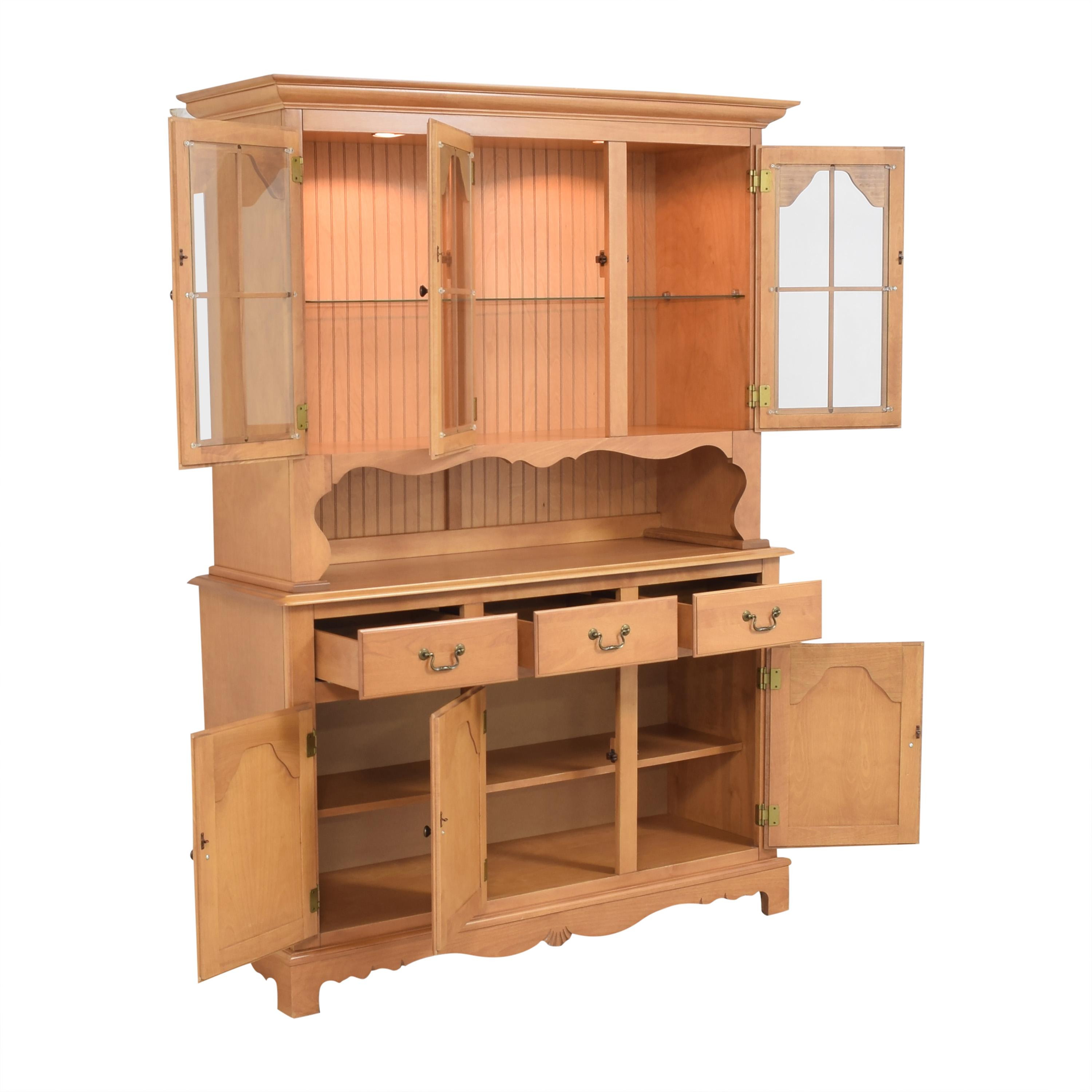 Bermex Bermex Buffet with Hutch Cabinets & Sideboards