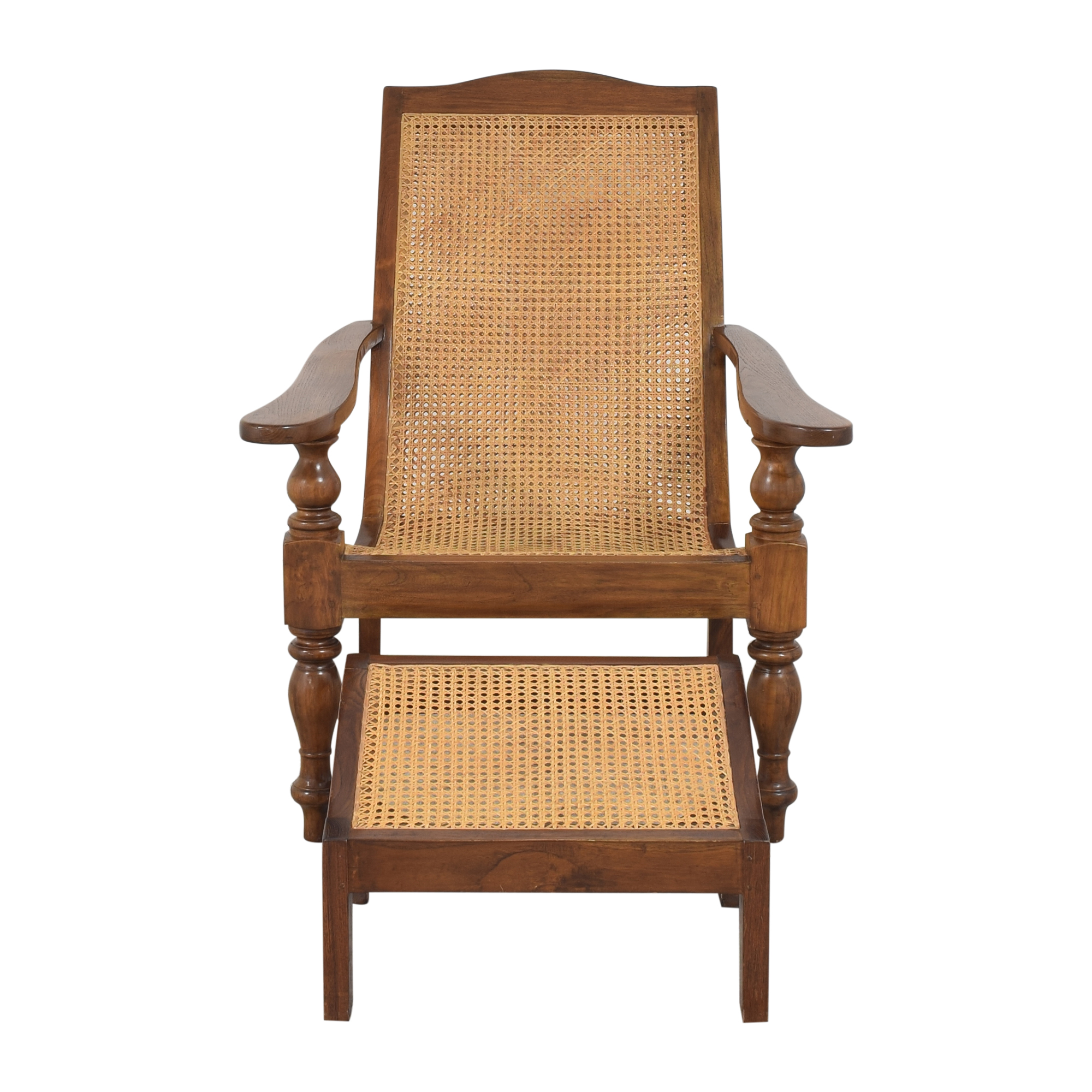 buy Plantation Chair with Ottoman  Chairs