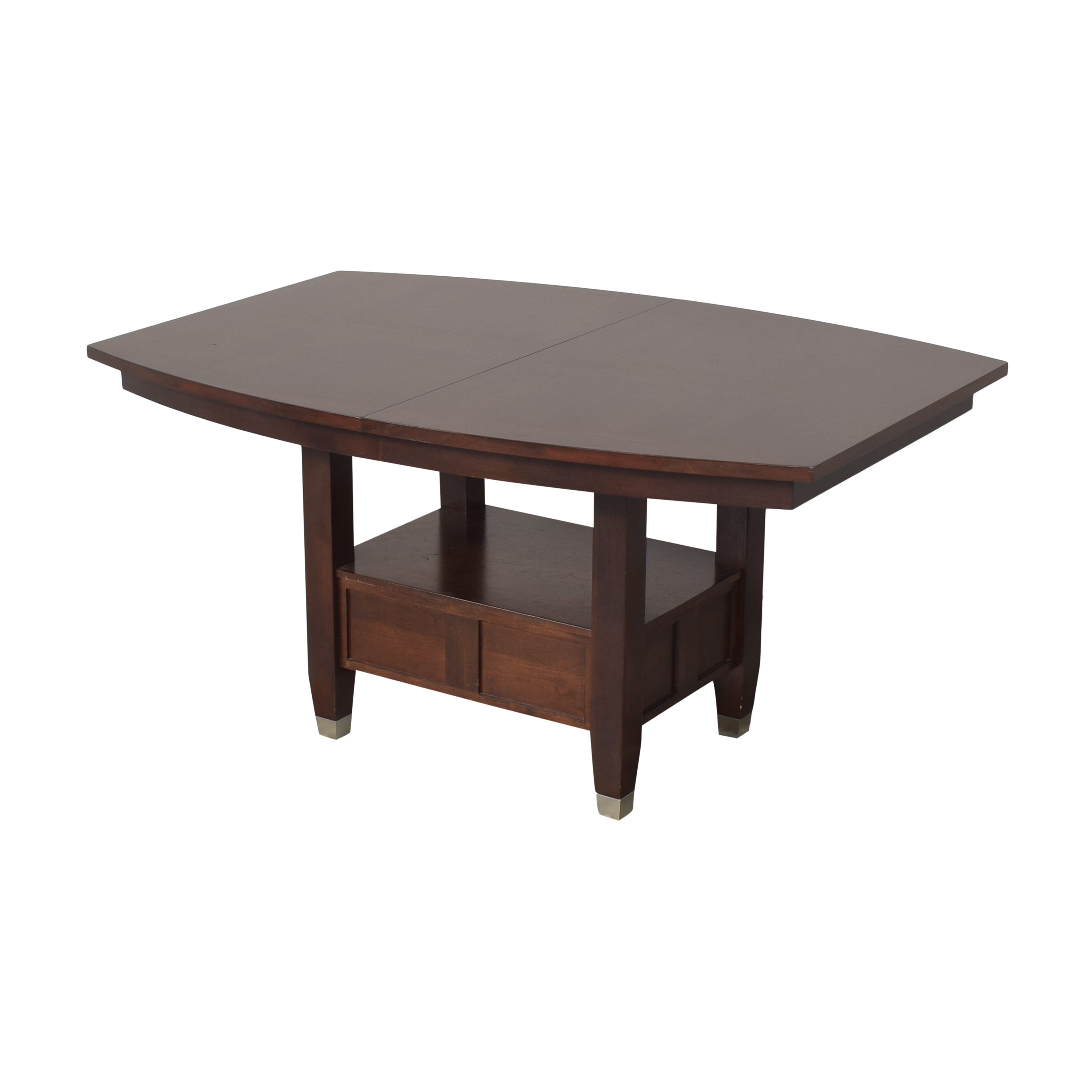 shop Broyhill Furniture Extendable Dining Table Broyhill Furniture Tables