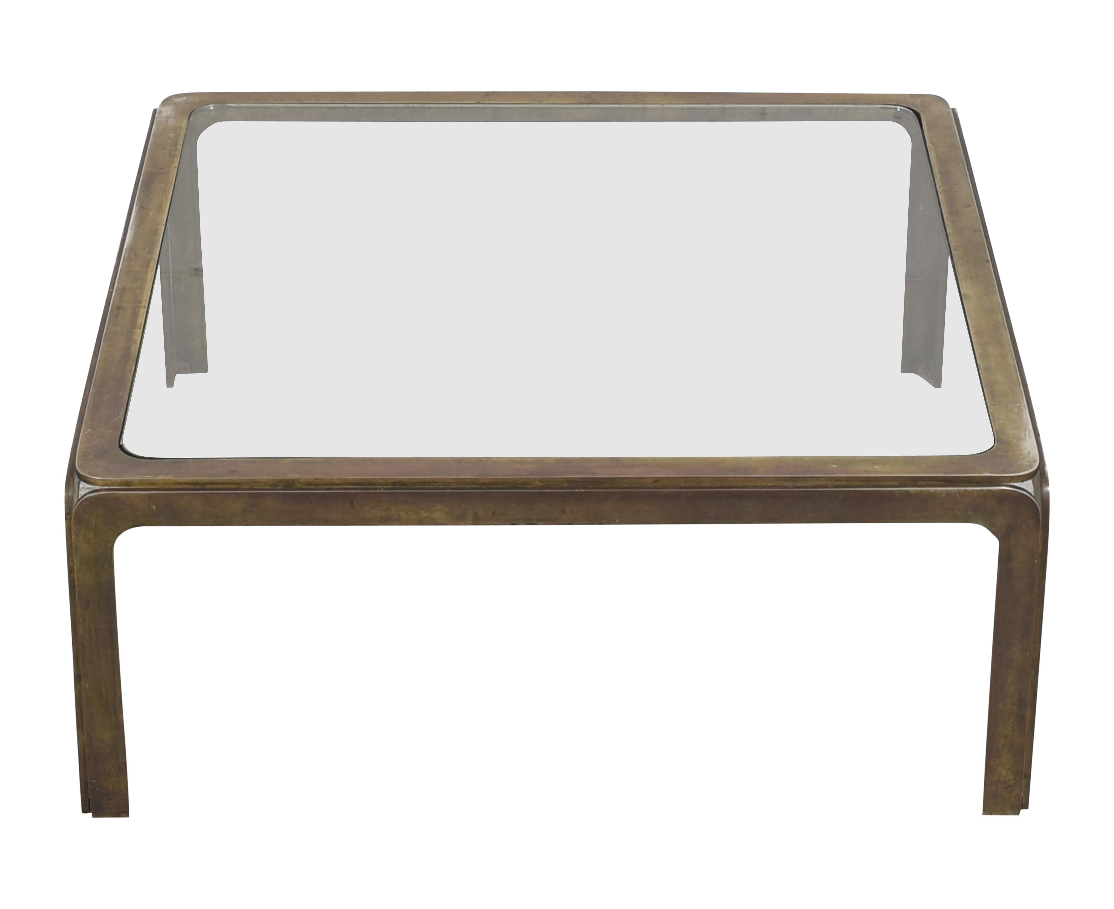 John Stuart Inc. Square Coffee Table / Coffee Tables