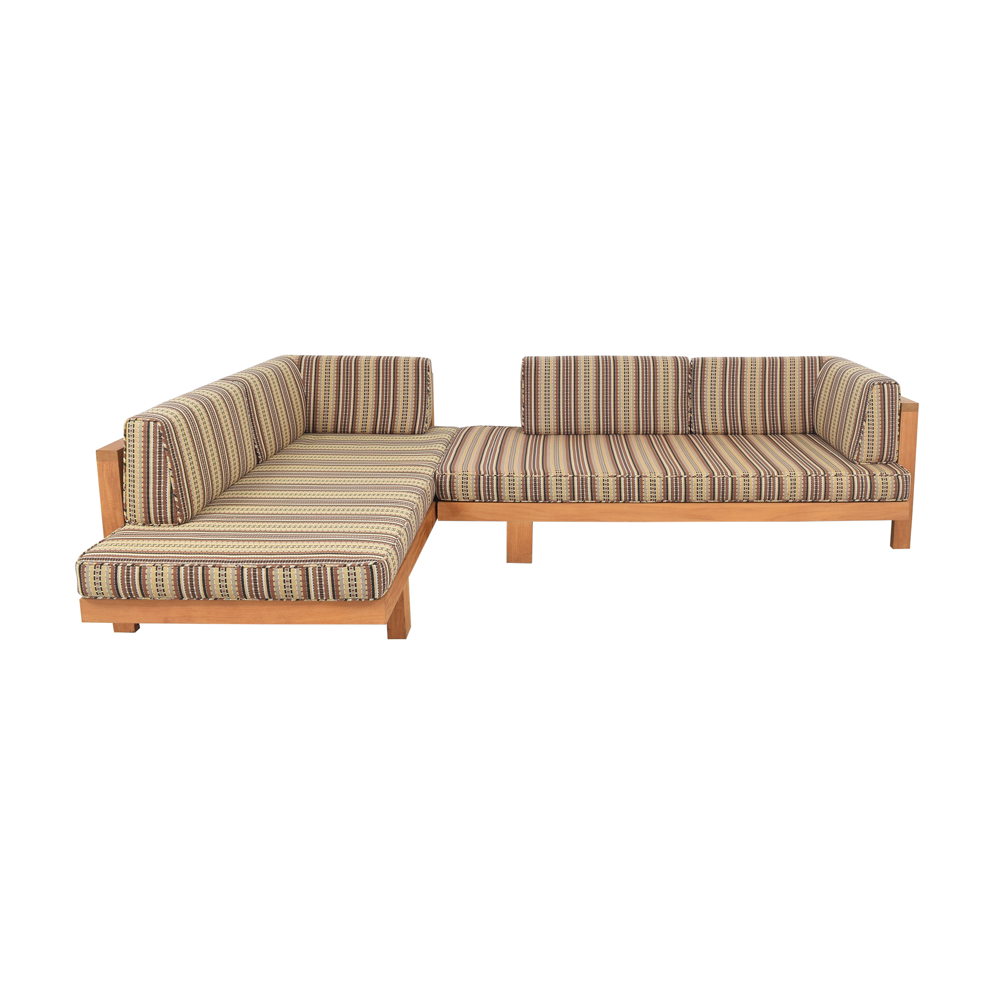 Henry Hall Designs Tru Pure Sectional Sofa / Sofas