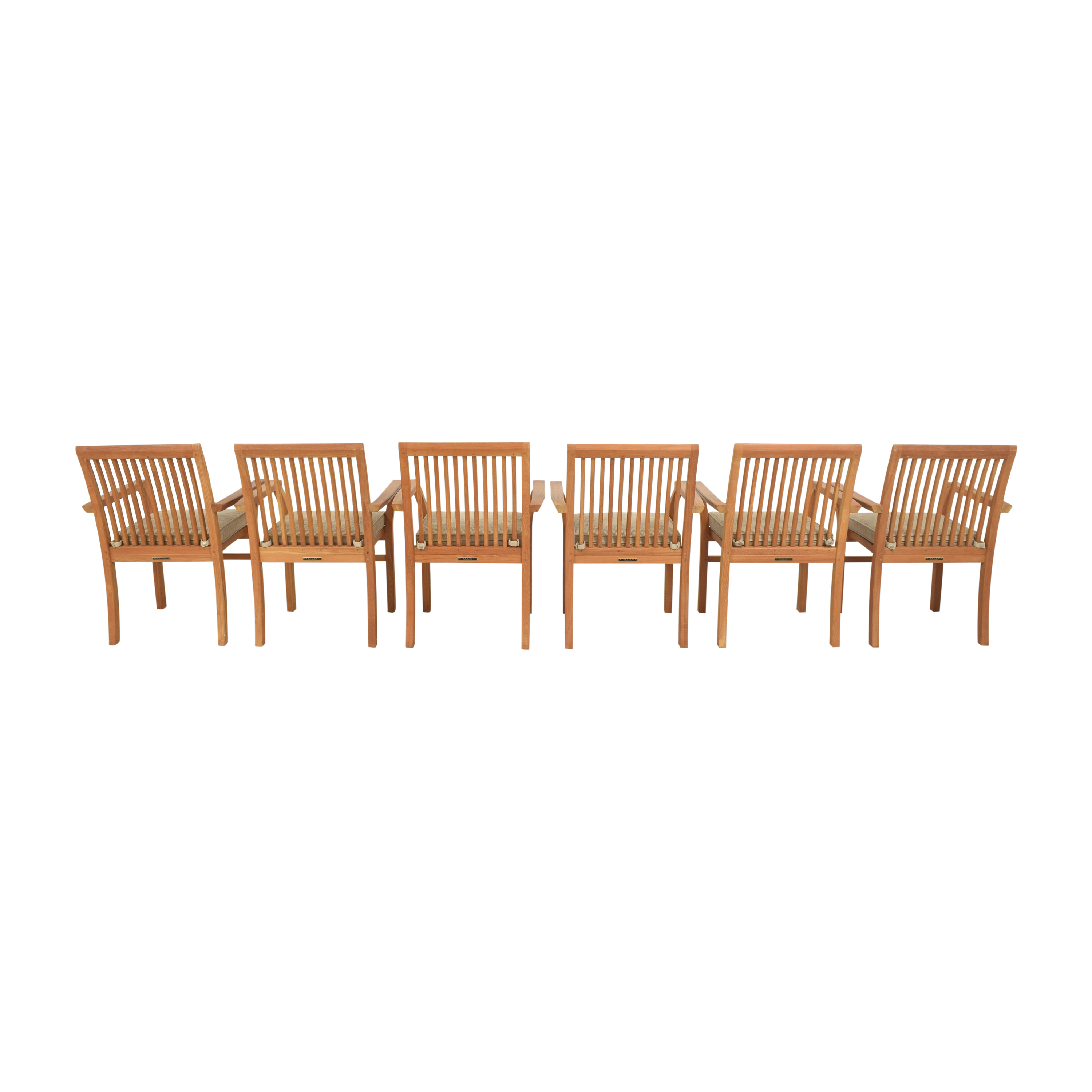 Henry Hall Designs Henry Hall Designs Stacking Armchairs Dining Chairs