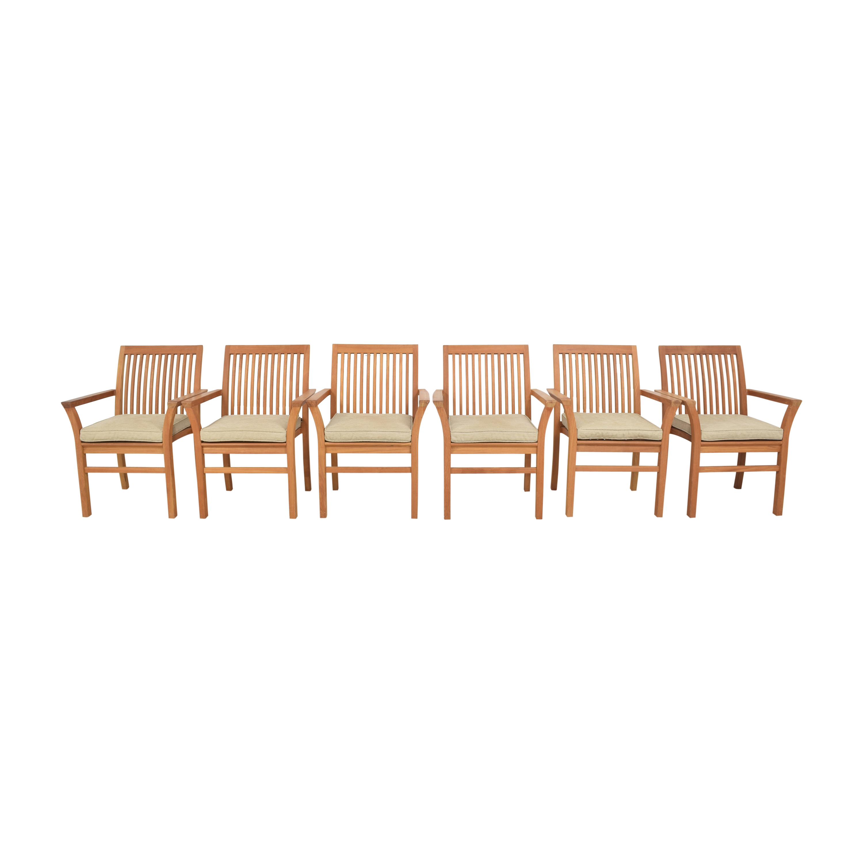 Henry Hall Designs Henry Hall Designs Stacking Armchairs second hand