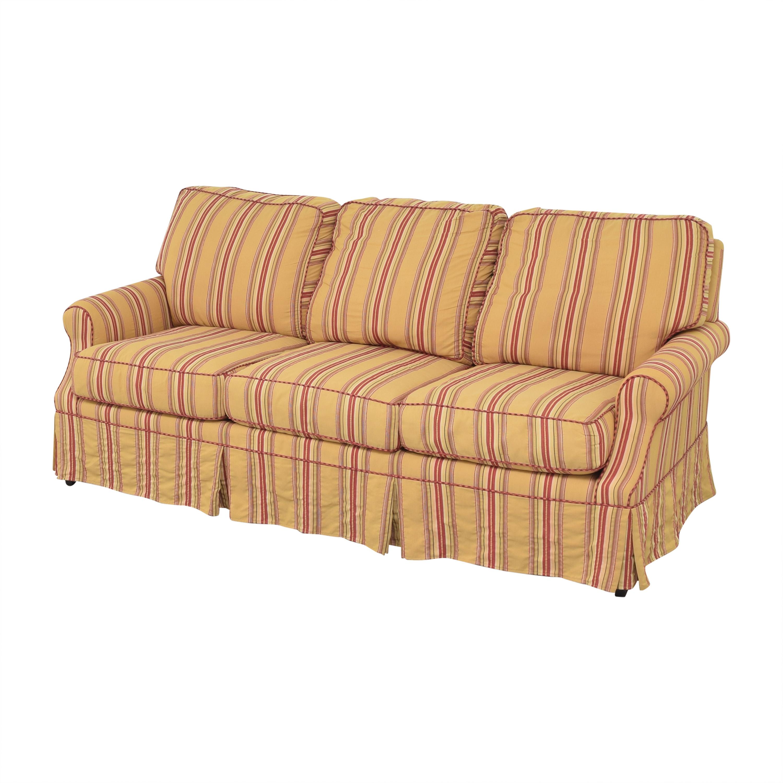 Wesley Hall Wesley Hall Stripe Sofa Classic Sofas