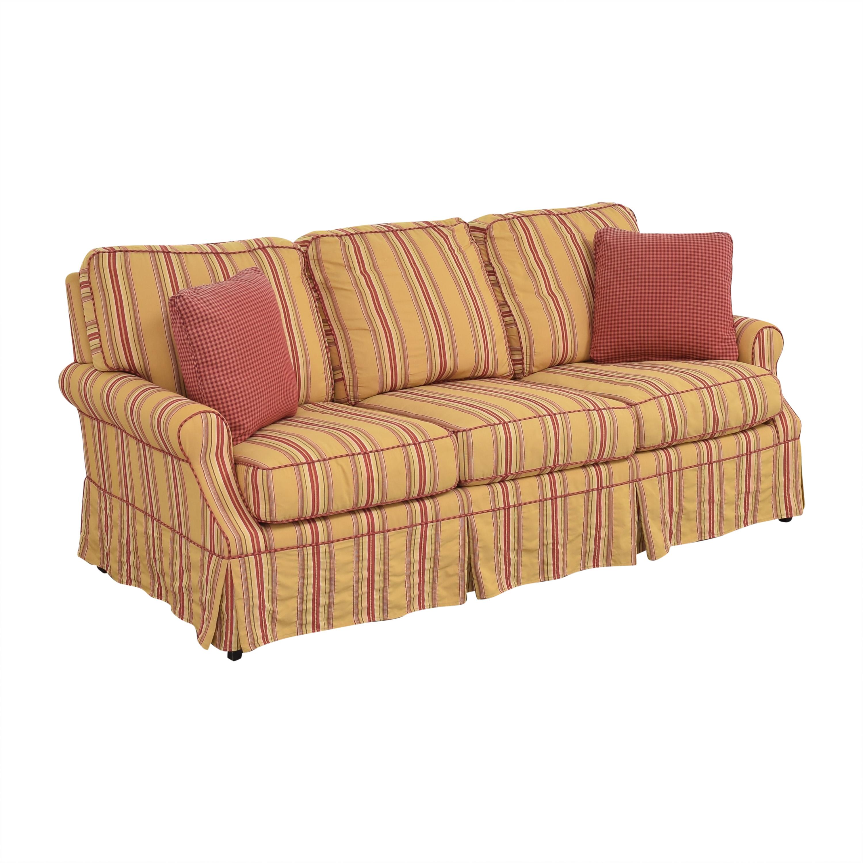 Wesley Hall Wesley Hall Stripe Sofa dimensions