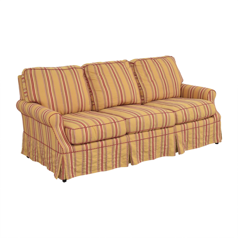 Wesley Hall Wesley Hall Stripe Sofa used