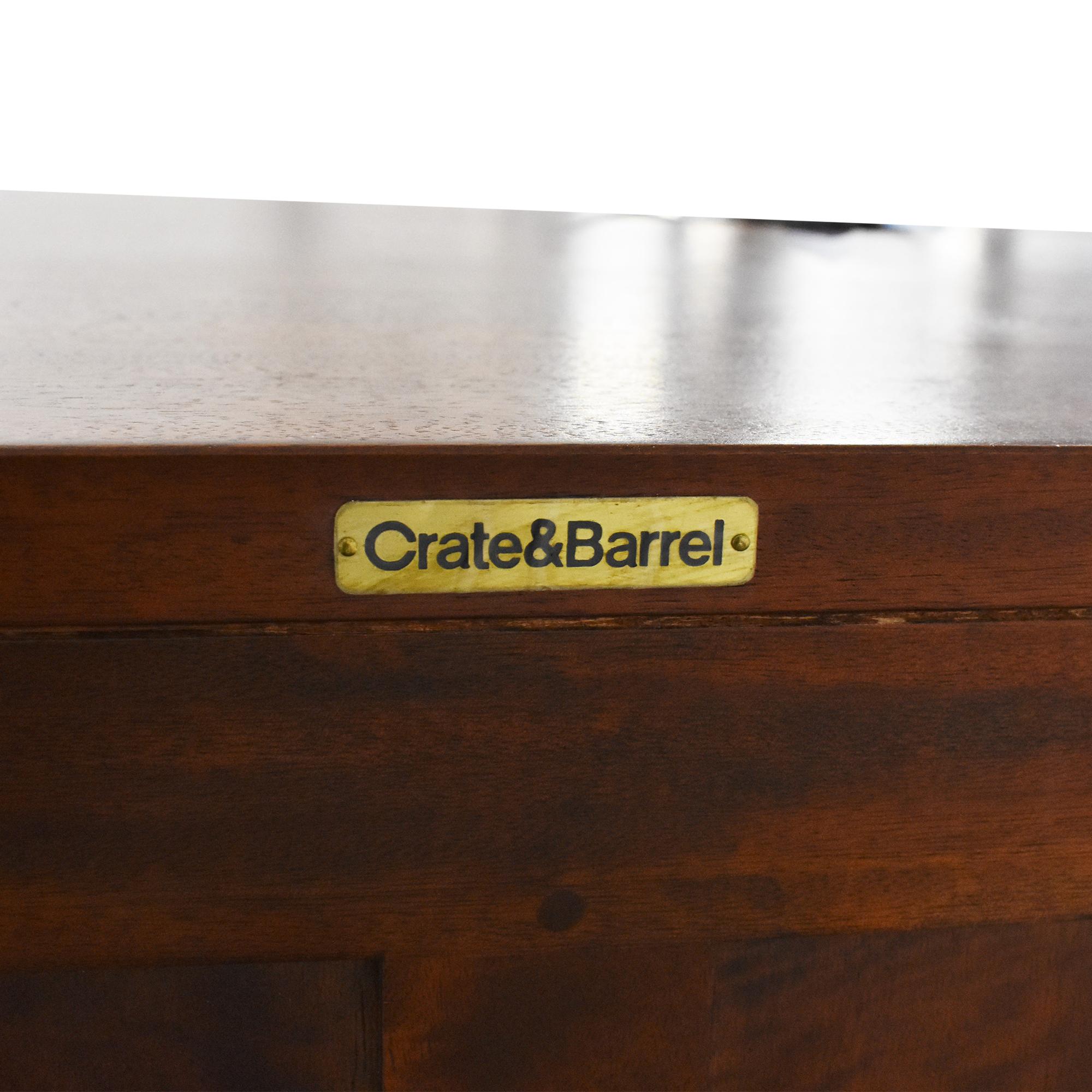 Crate & Barrel Crate & Barrel Sliding Door Console coupon
