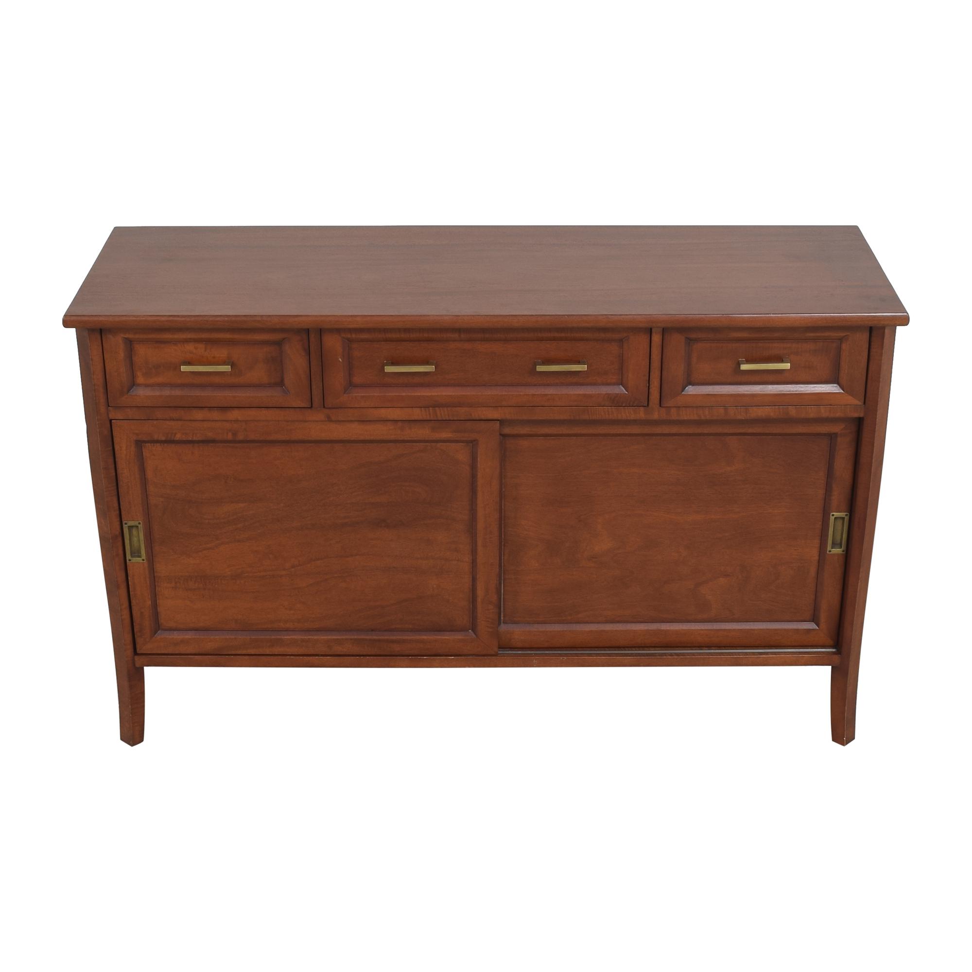 Crate & Barrel Sliding Door Console / Cabinets & Sideboards