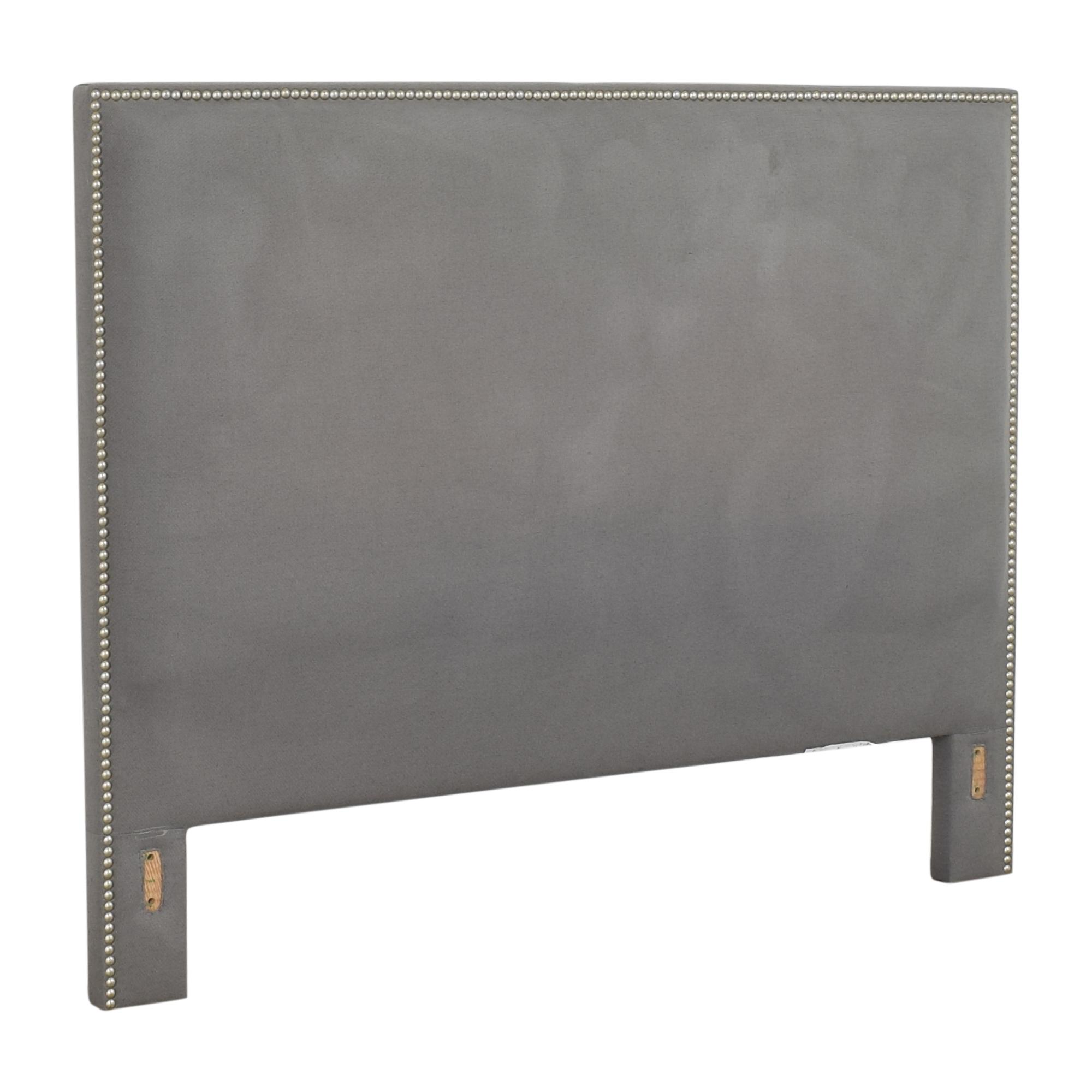 Crate & Barrel Crate & Barrel Cole Upholstered Queen Headboard ct
