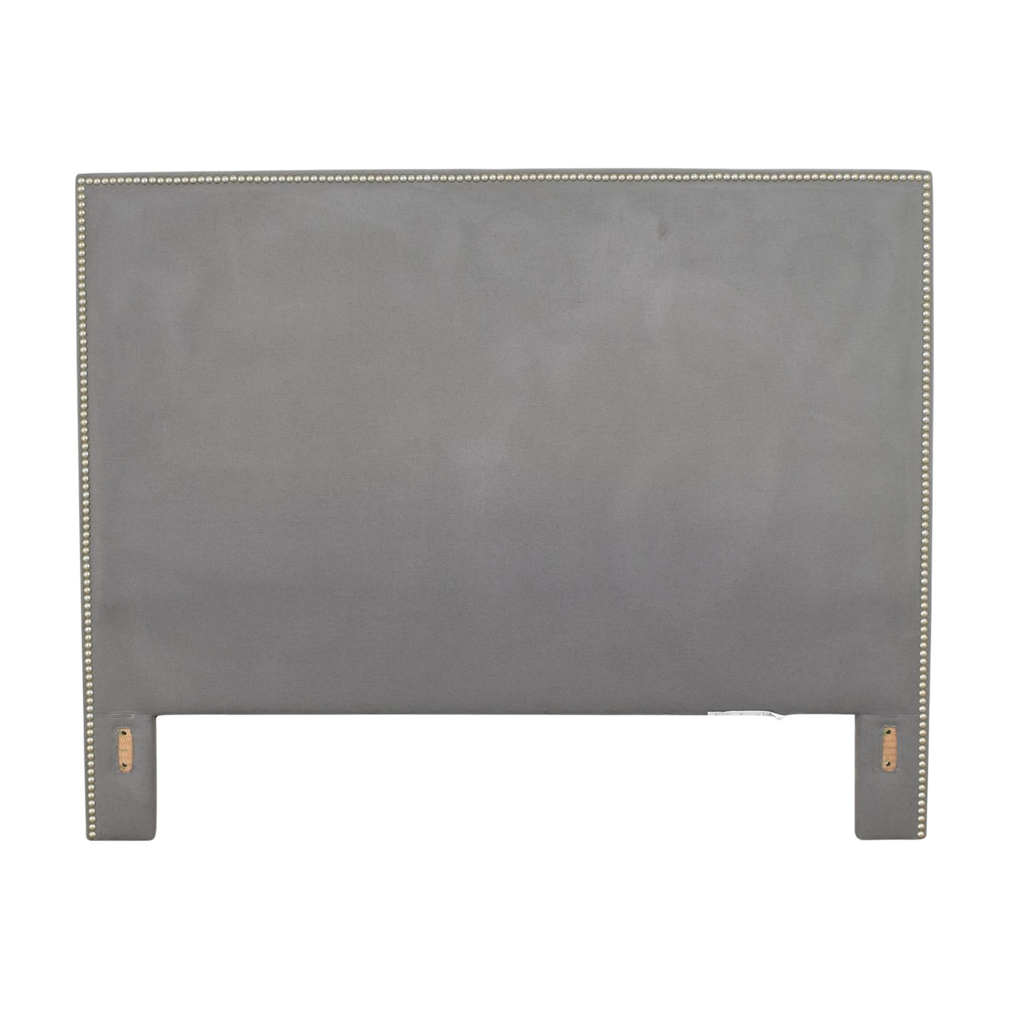 Crate & Barrel Crate & Barrel Cole Upholstered Queen Headboard